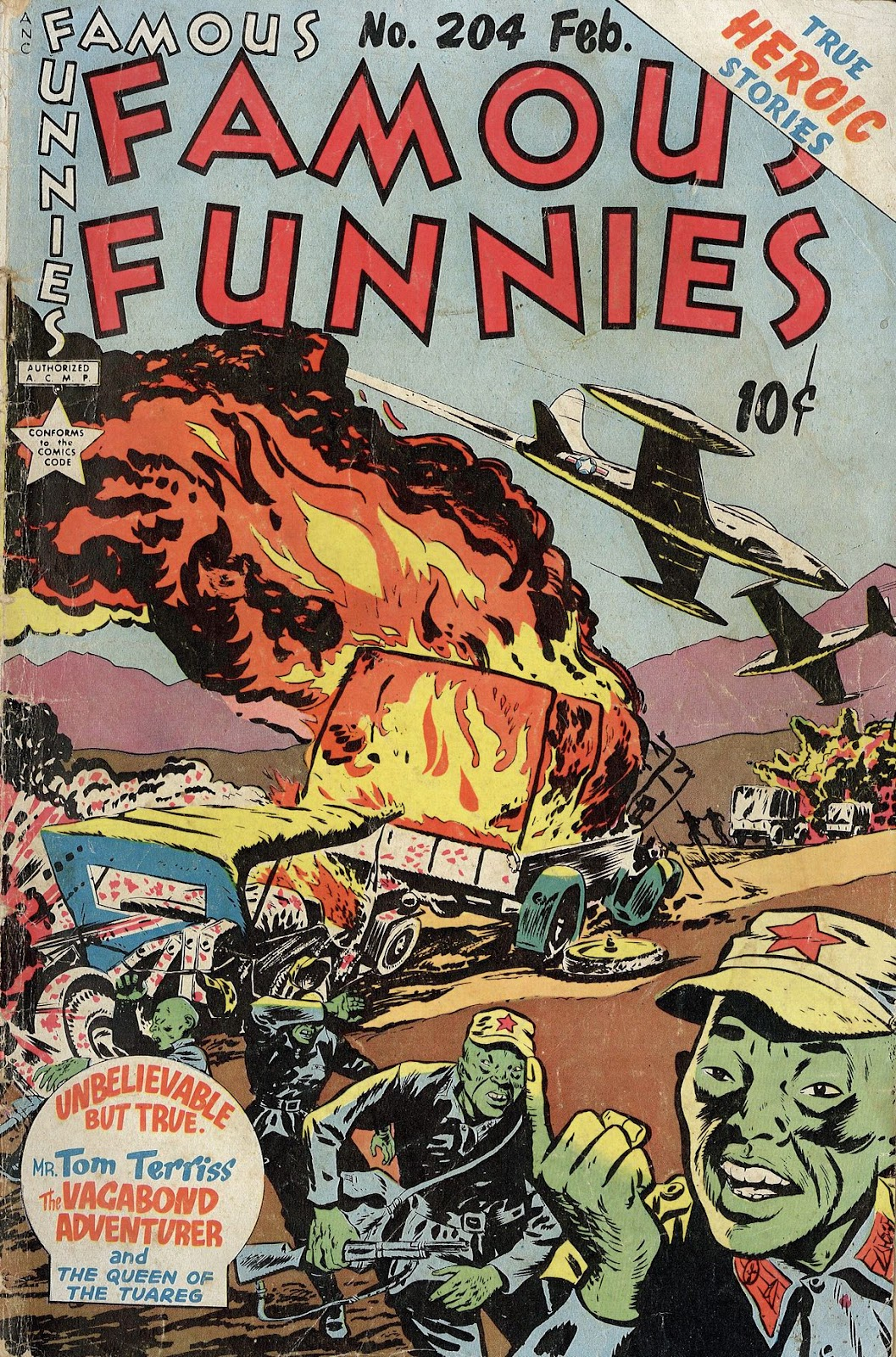 Read online Famous Funnies comic -  Issue #204 - 1