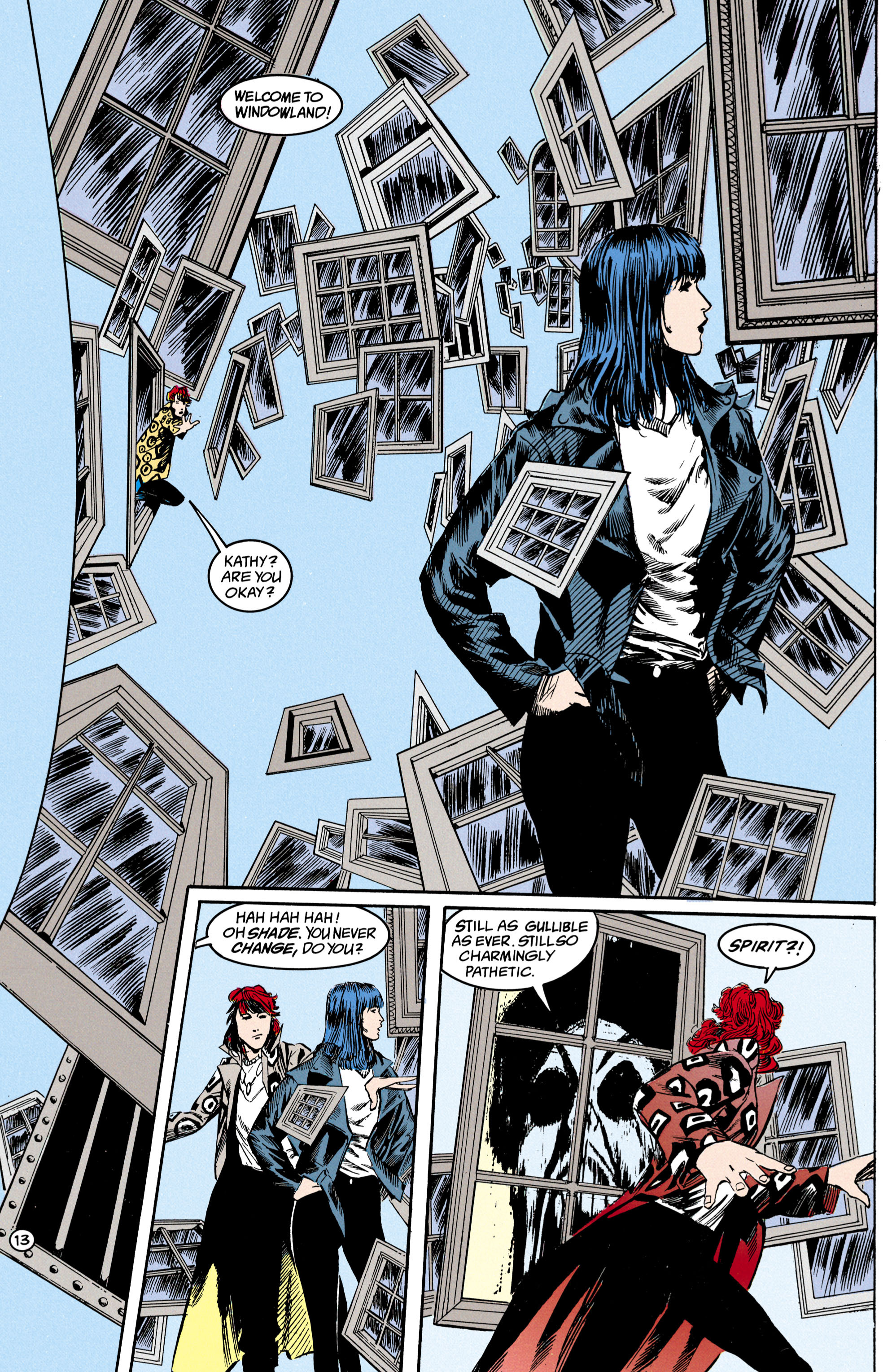 Read online Shade, the Changing Man comic -  Issue #17 - 14