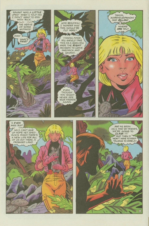 Read online Ex-Mutants comic -  Issue #6 - 8
