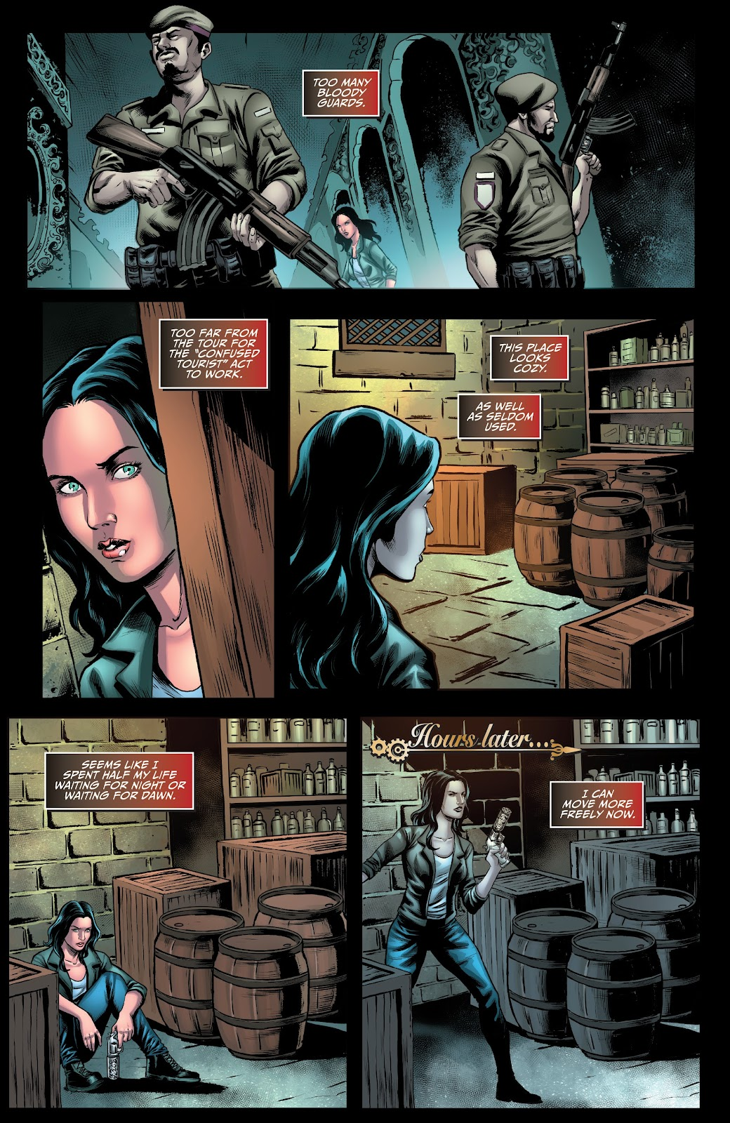 Read online Van Helsing: Sword of Heaven comic -  Issue #4 - 10