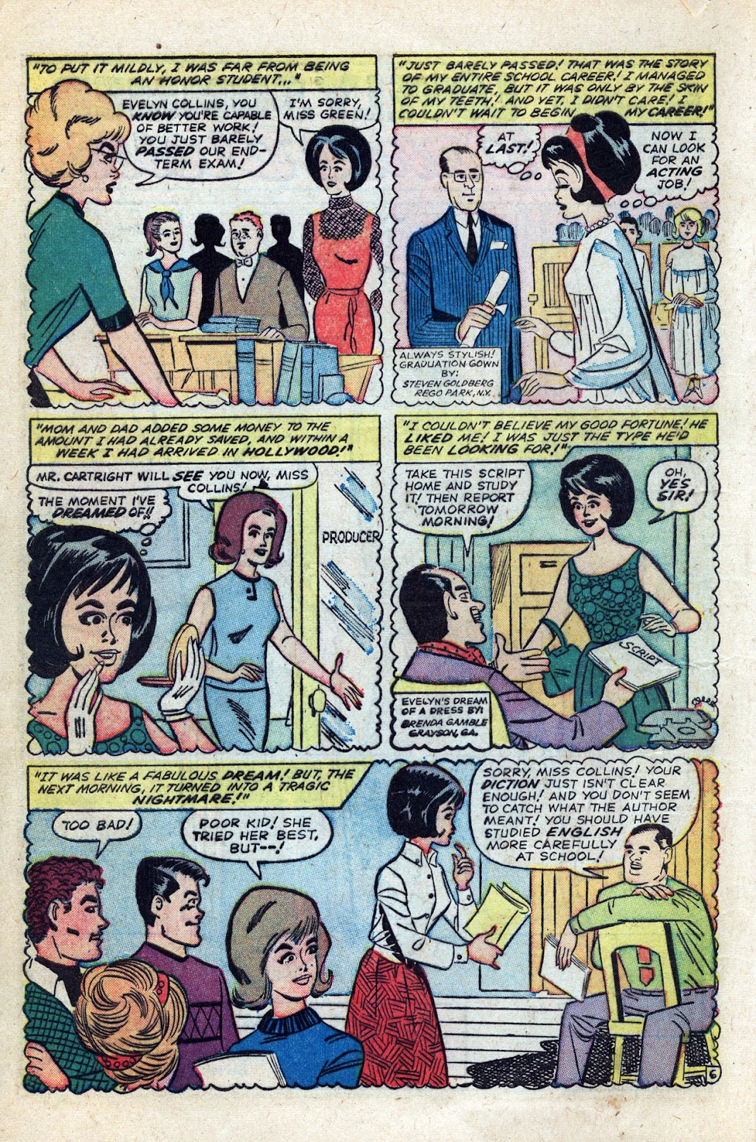 Read online Millie the Model comic -  Issue # Annual 3 - 10