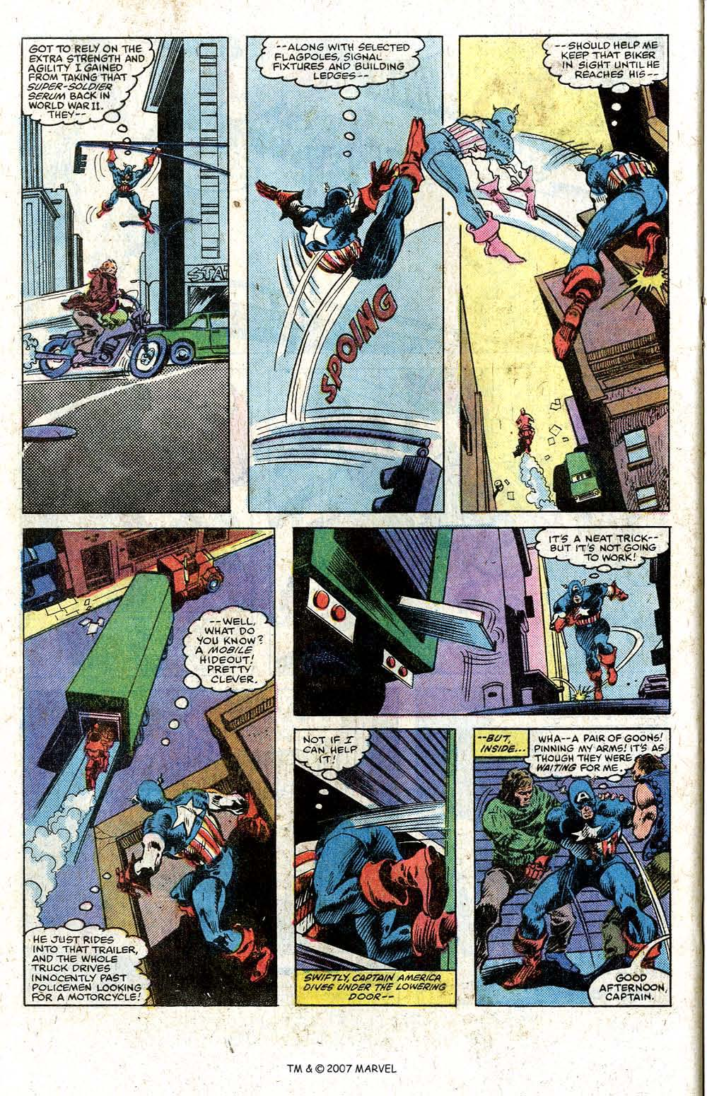 Read online Captain America (1968) comic -  Issue # _Annual 5 - 32