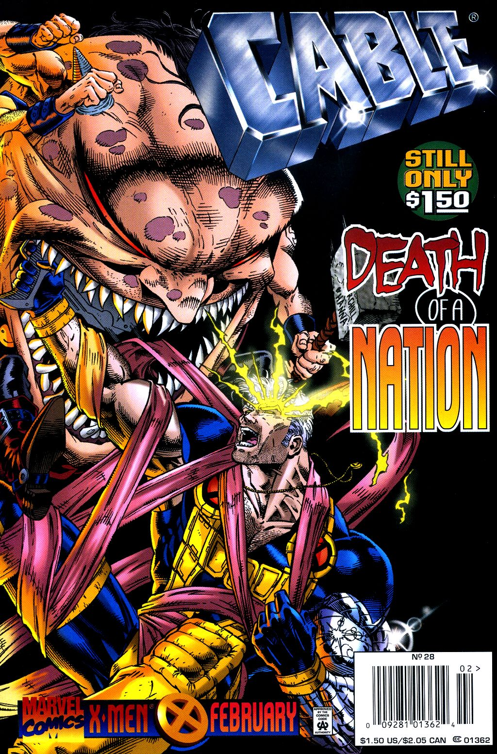 Cable (1993) 28 Page 1