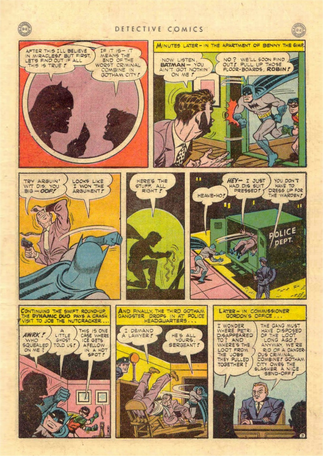 Read online Detective Comics (1937) comic -  Issue #97 - 5