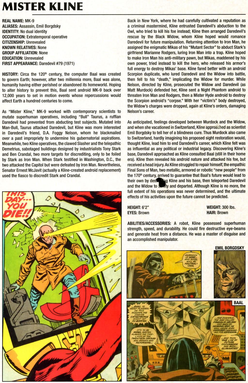 Read online Marvel Legacy: The 1970's Handbook comic -  Issue # Full - 42