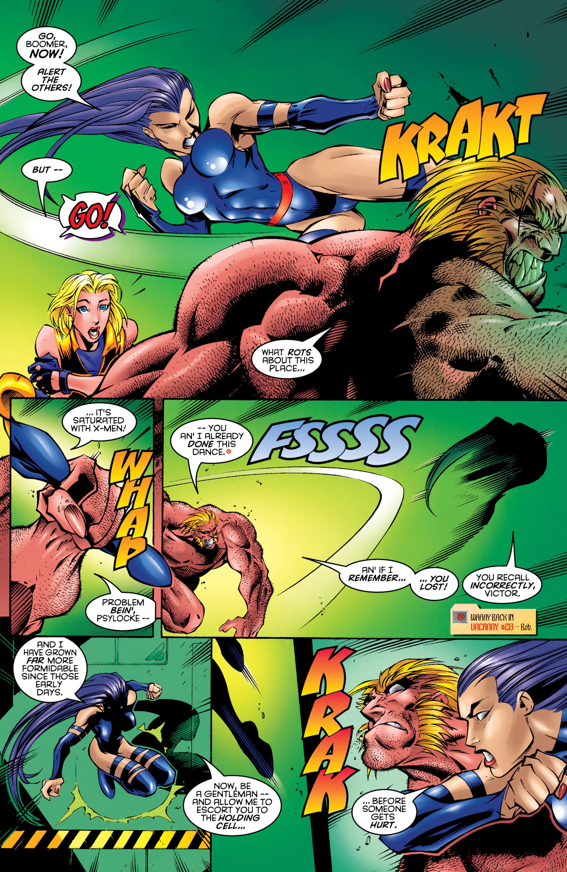 Read online Uncanny X-Men (1963) comic -  Issue #328 - 17