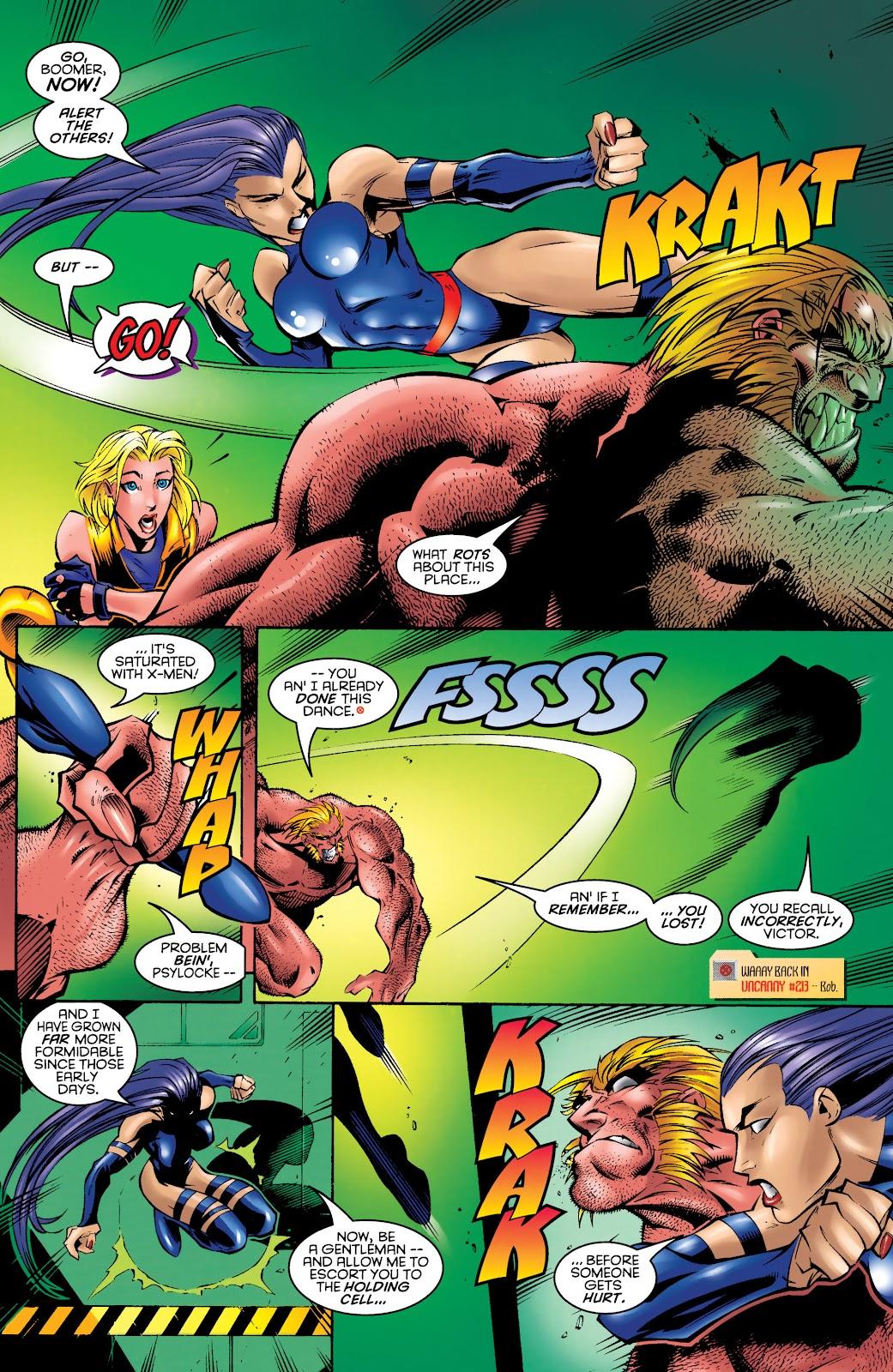 Uncanny X-Men (1963) issue 328 - Page 17
