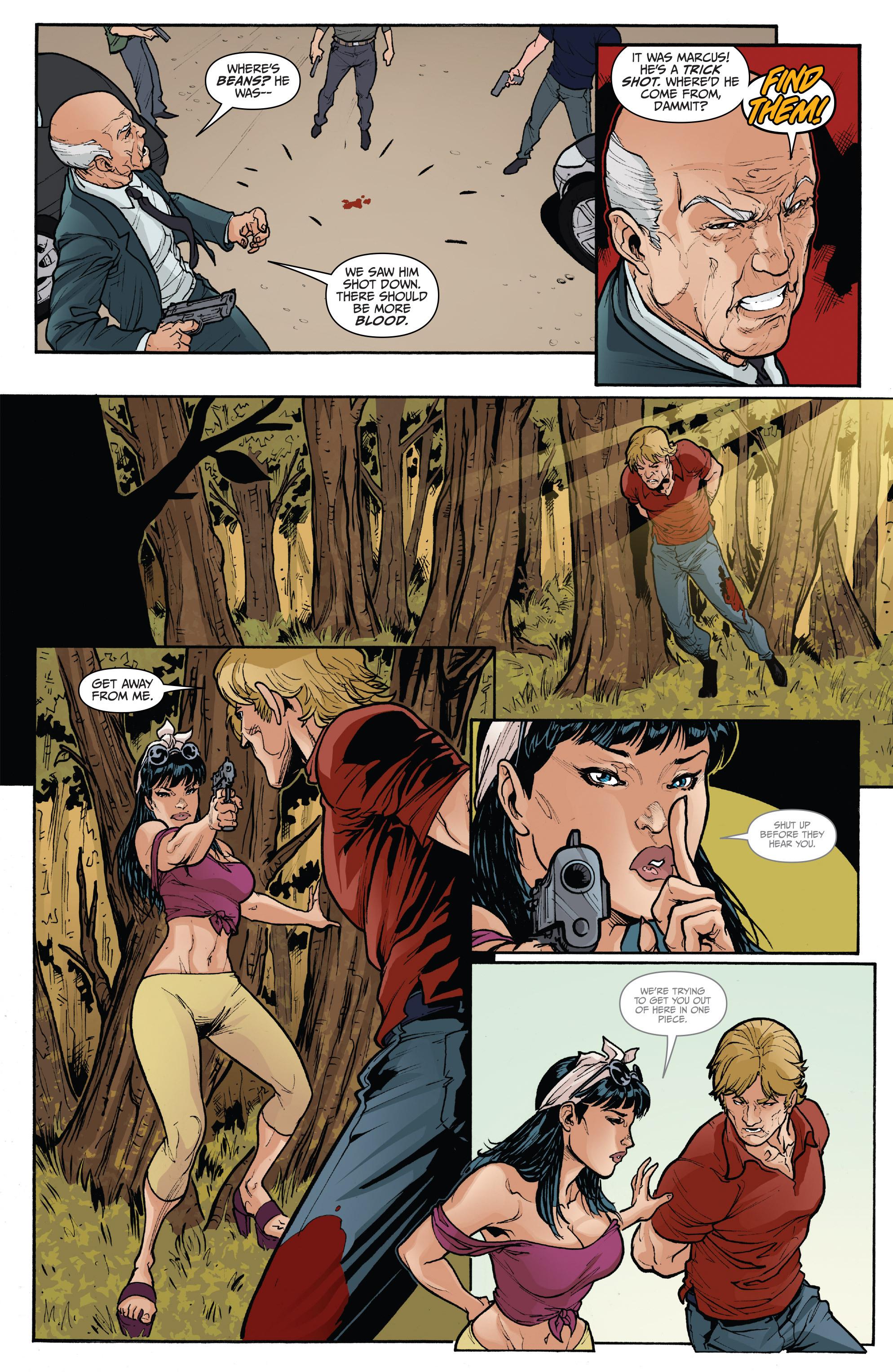 Read online 3 Guns comic -  Issue #5 - 5