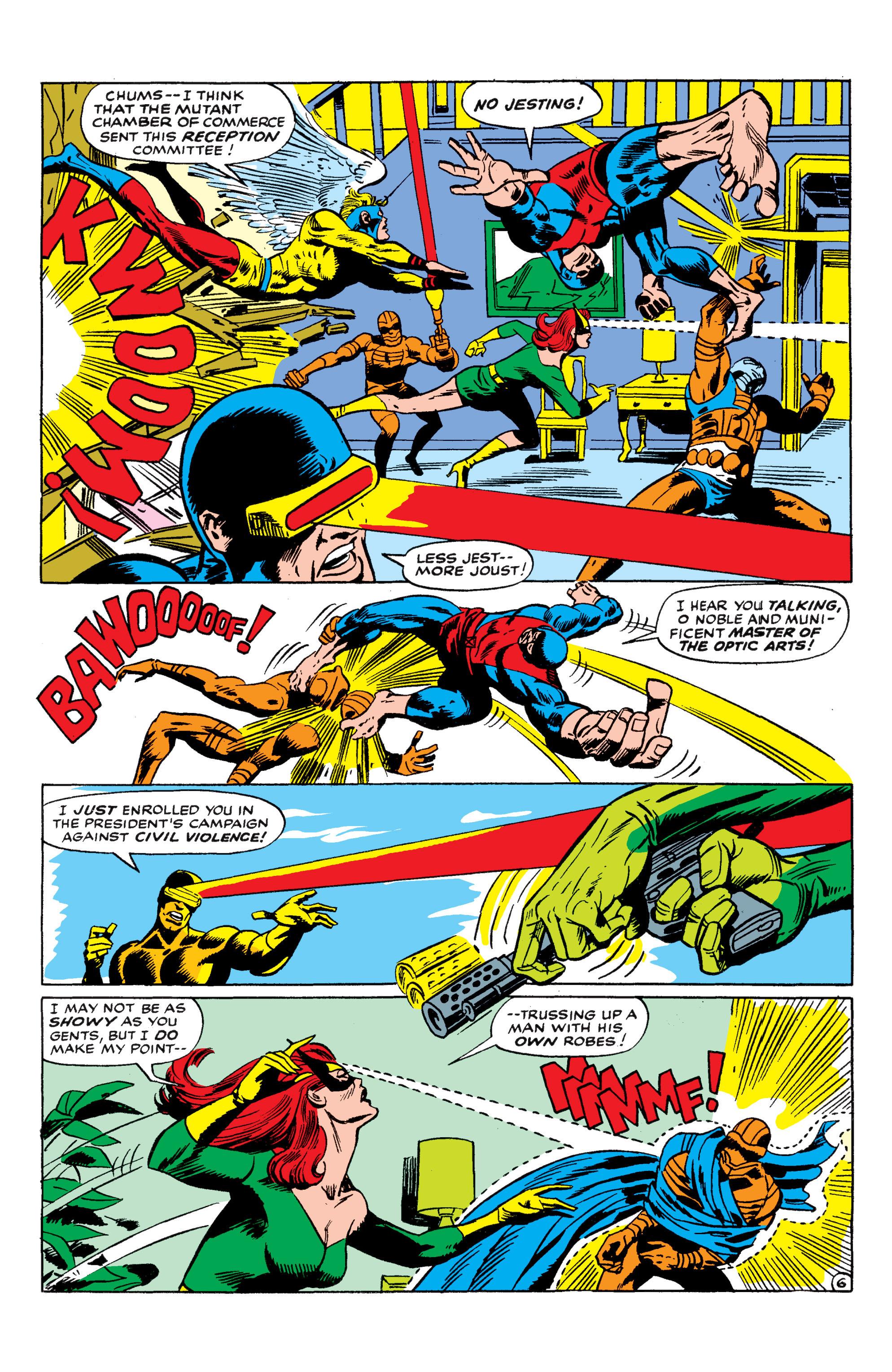 Read online Uncanny X-Men (1963) comic -  Issue #50 - 6