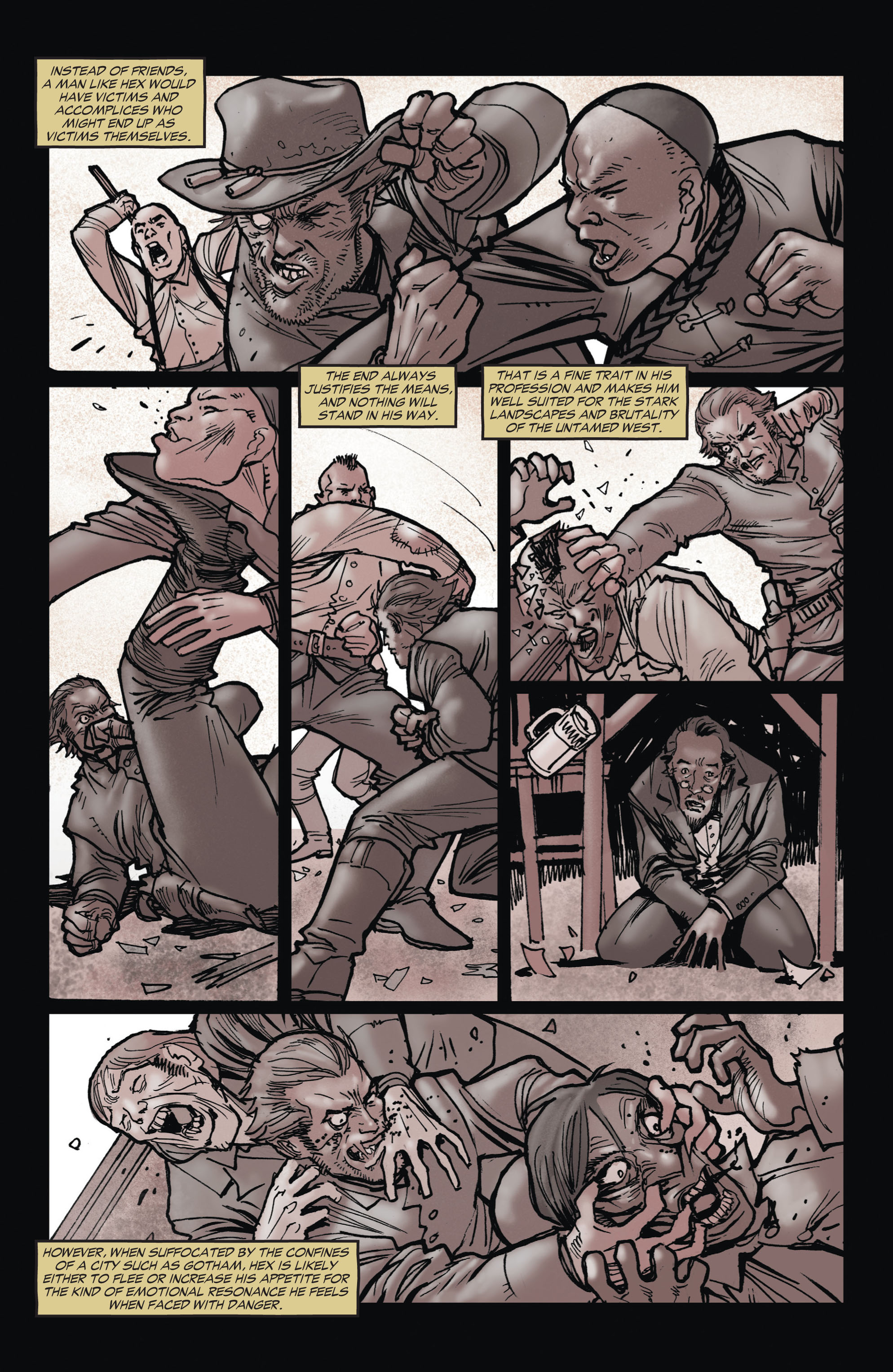 Read online All-Star Western (2011) comic -  Issue #1 - 15