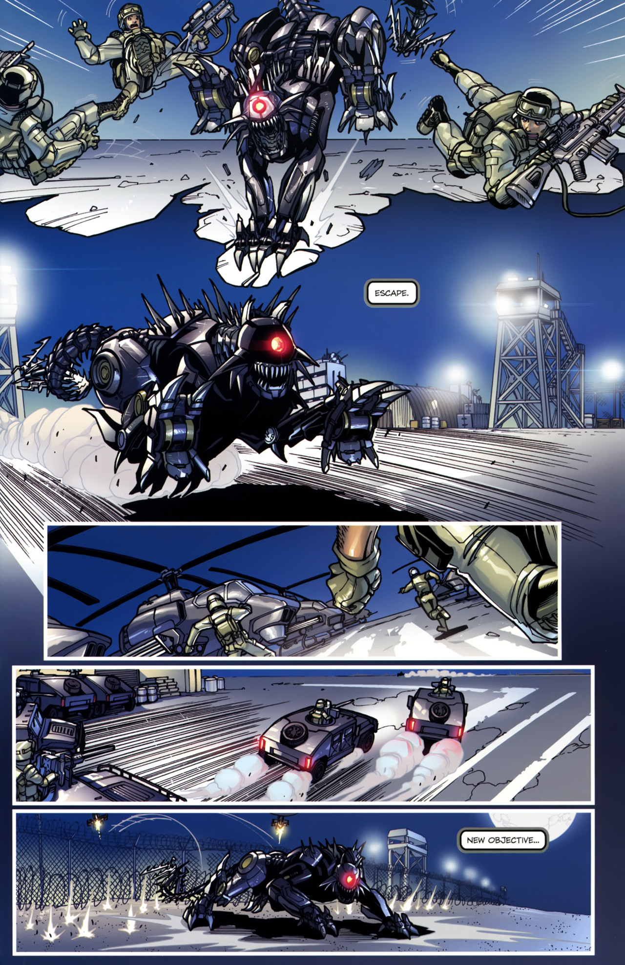 Read online Transformers: Tales of The Fallen comic -  Issue #5 - 7