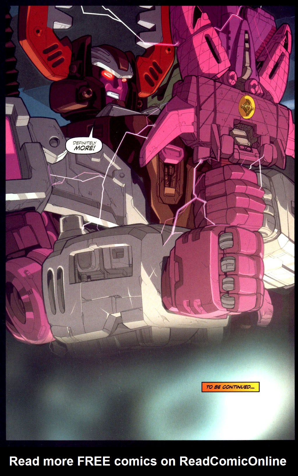 Read online Transformers Armada comic -  Issue #6 - 23