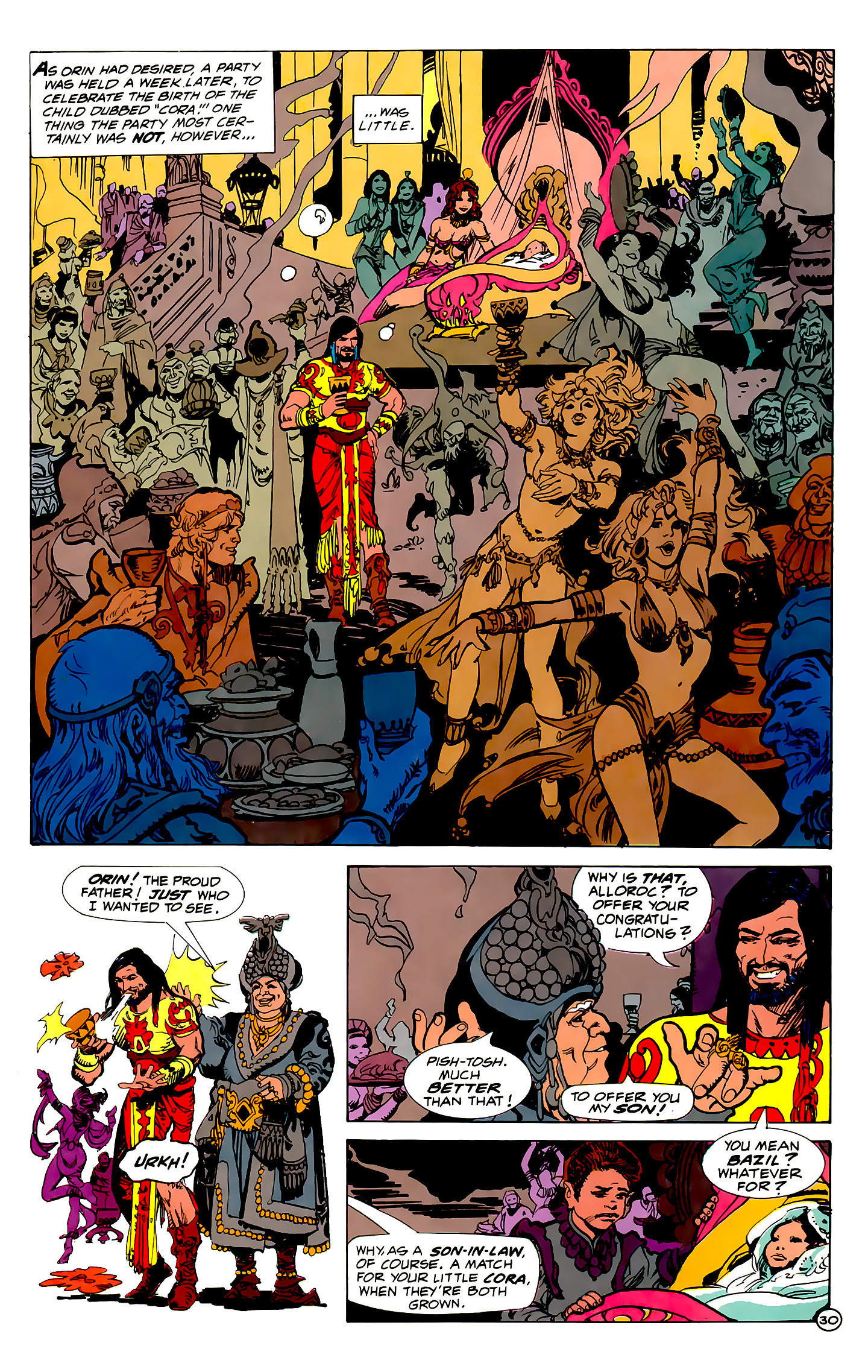 Read online Atlantis Chronicles comic -  Issue #1 - 30