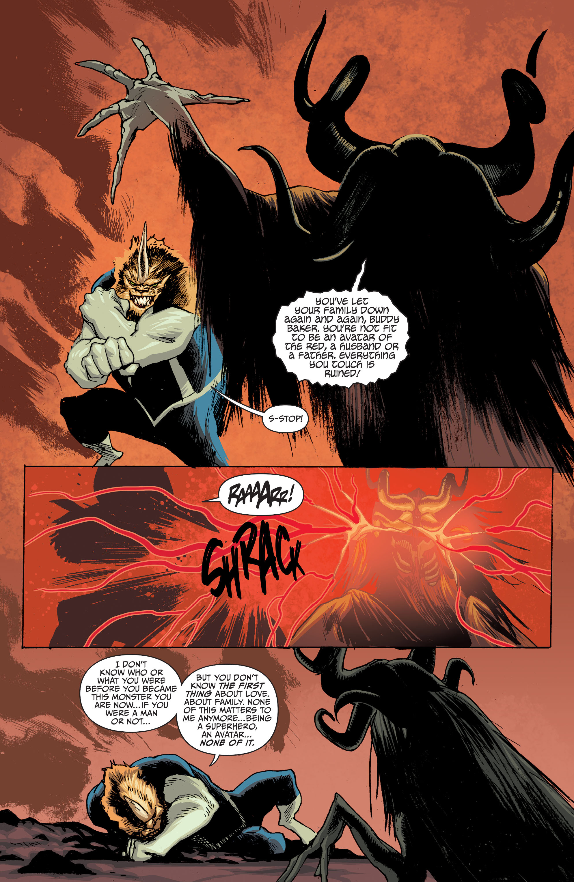 Read online Animal Man (2011) comic -  Issue #28 - 3