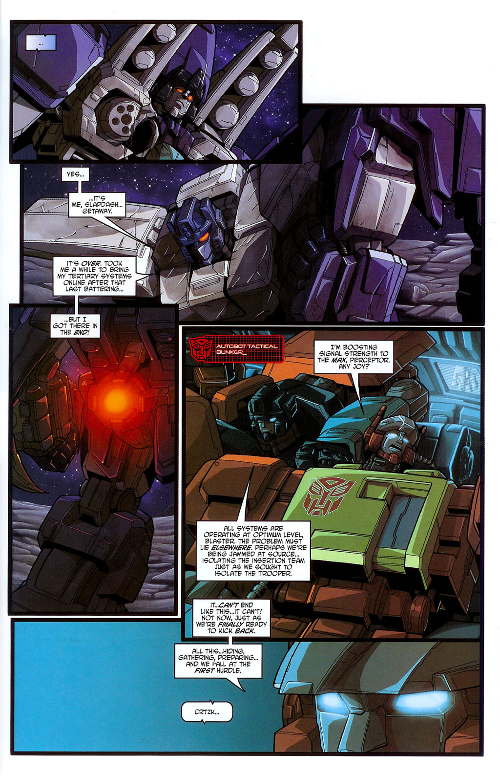"""Read online Transformers War Within: """"The Age of Wrath"""" comic -  Issue #3 - 19"""