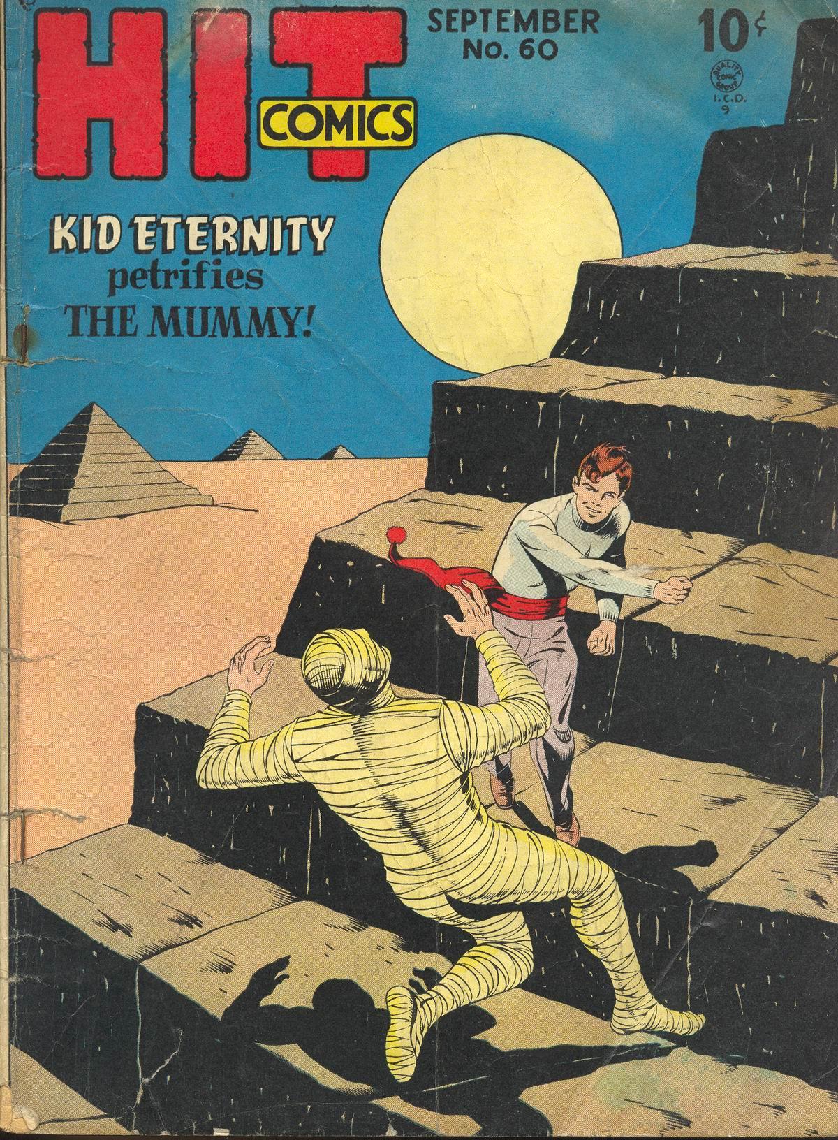 Read online Hit Comics comic -  Issue #60 - 1