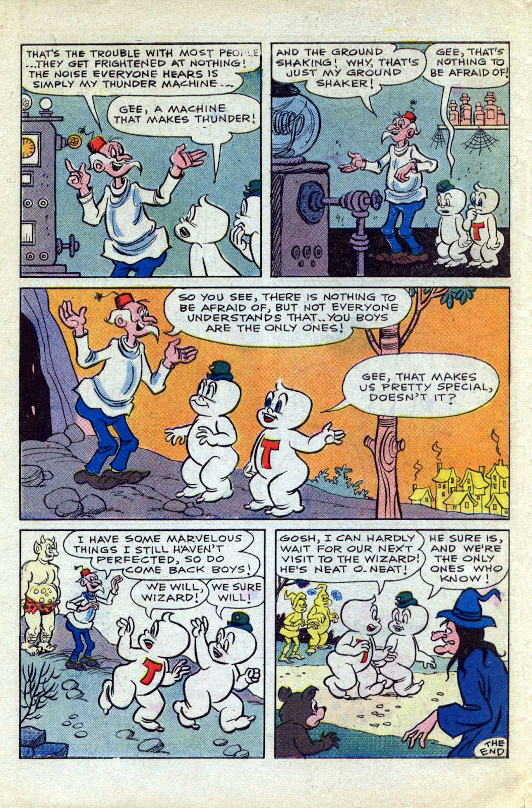 Read online Timmy the Timid Ghost comic -  Issue #17 - 10