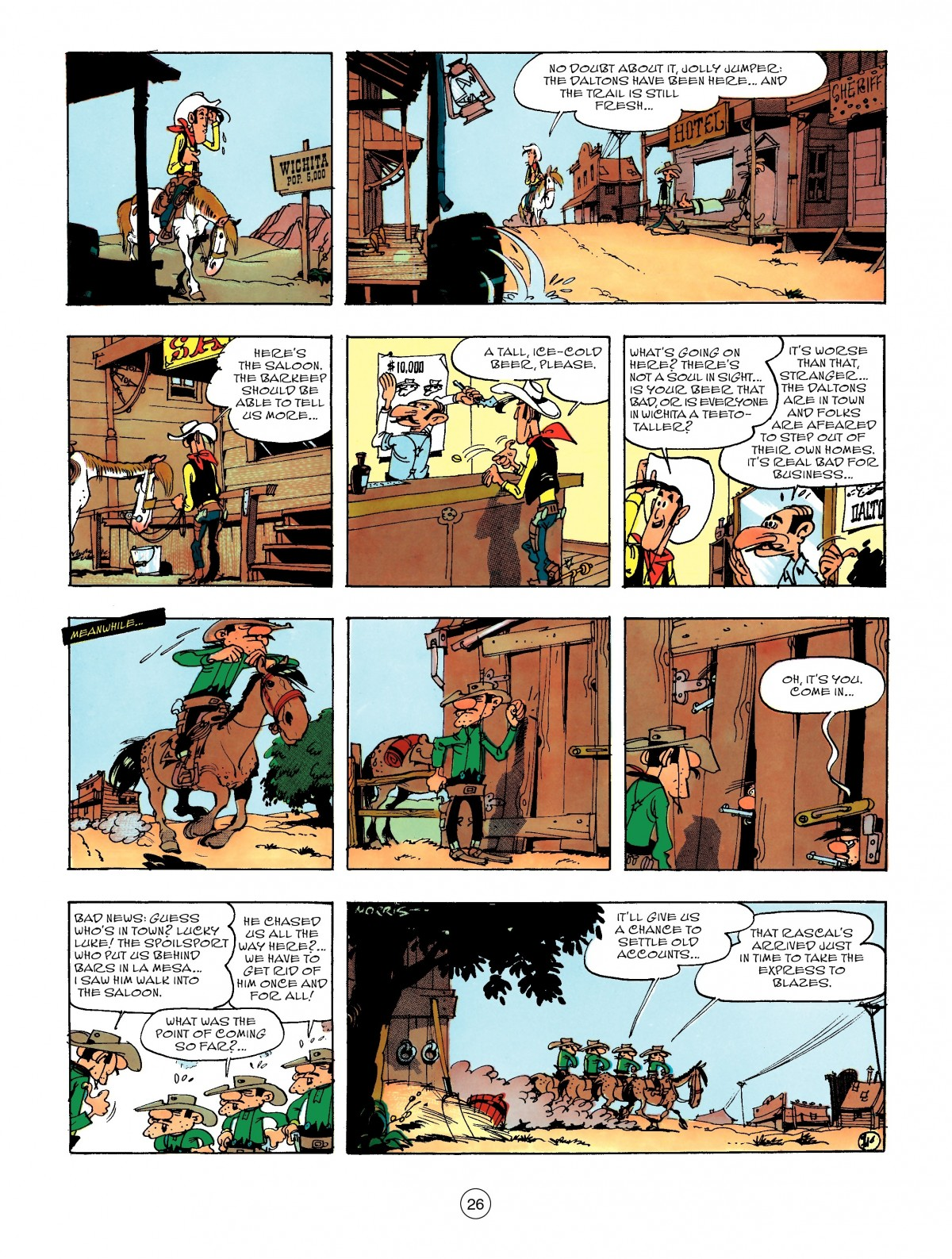 Read online A Lucky Luke Adventure comic -  Issue #47 - 26