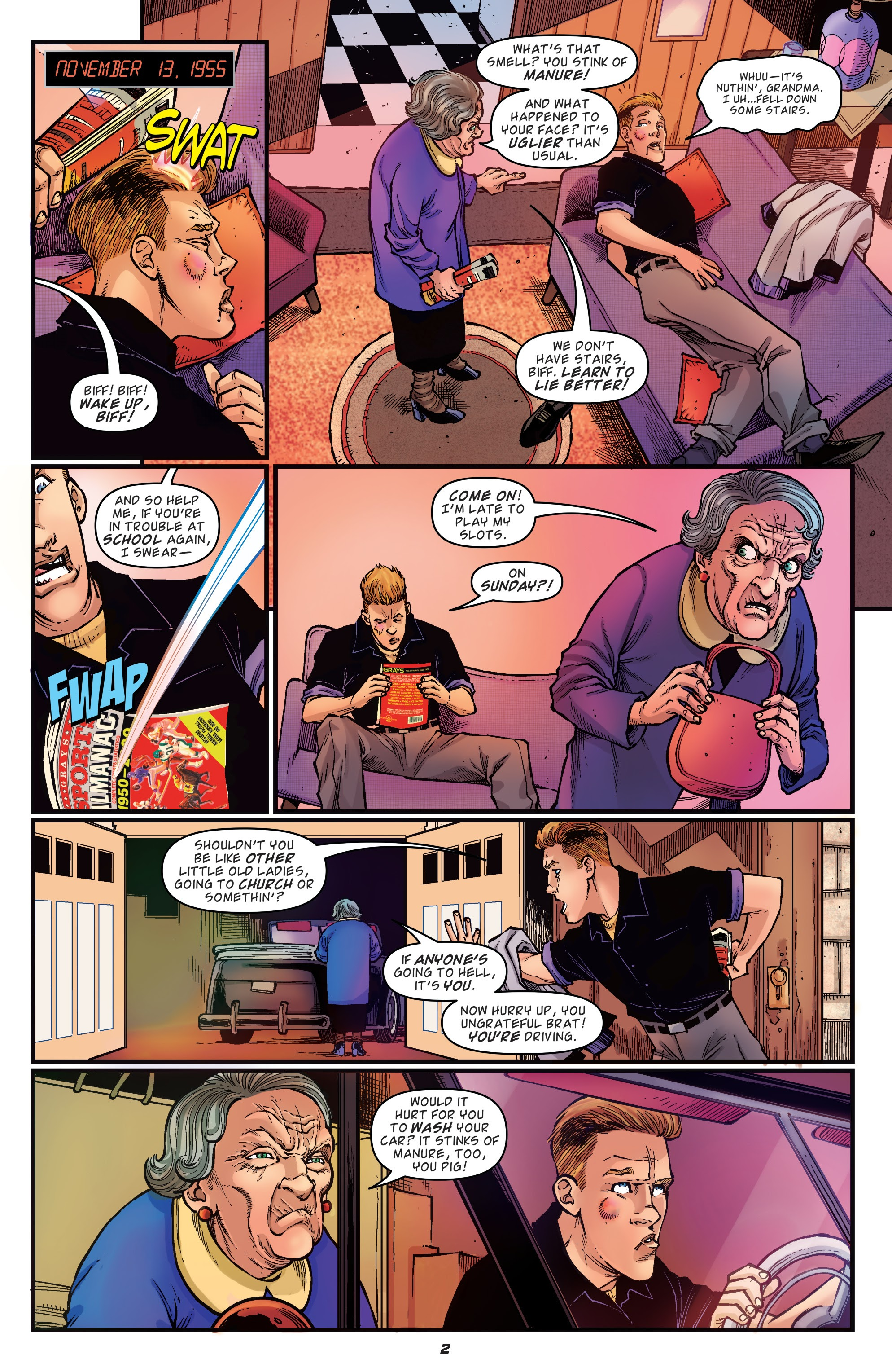 Read online Back to the Future: Biff to the Future comic -  Issue #1 - 4