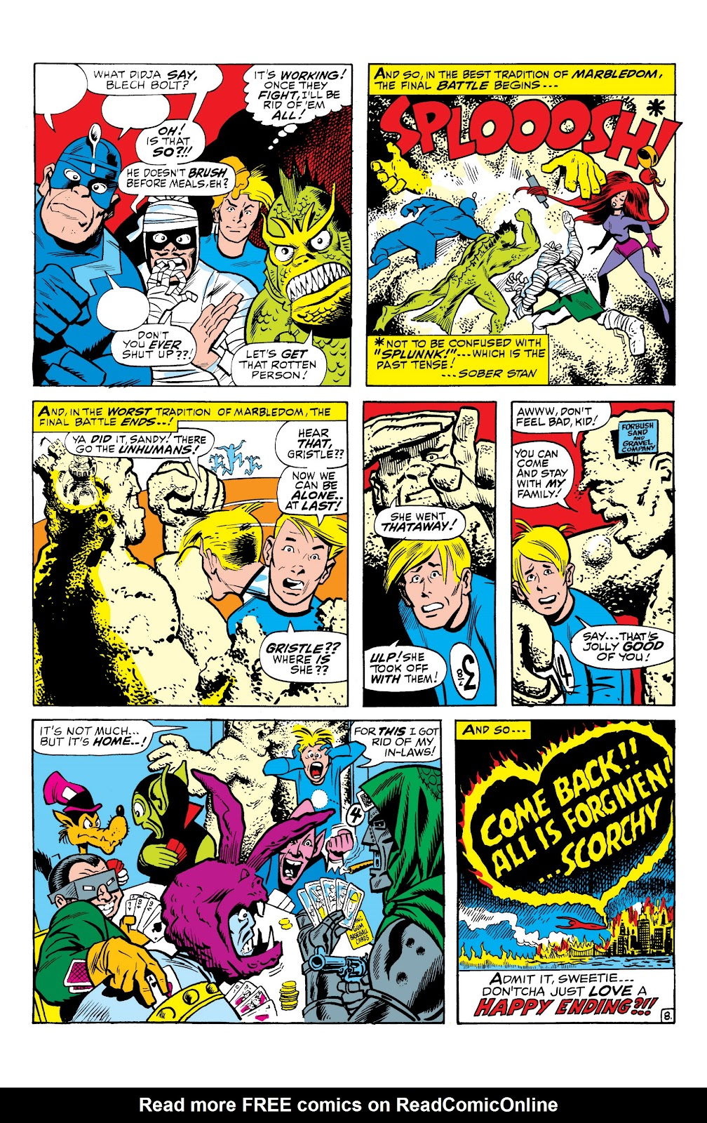 Read online Marvel Masterworks: The Inhumans comic -  Issue # TPB 1 (Part 3) - 25