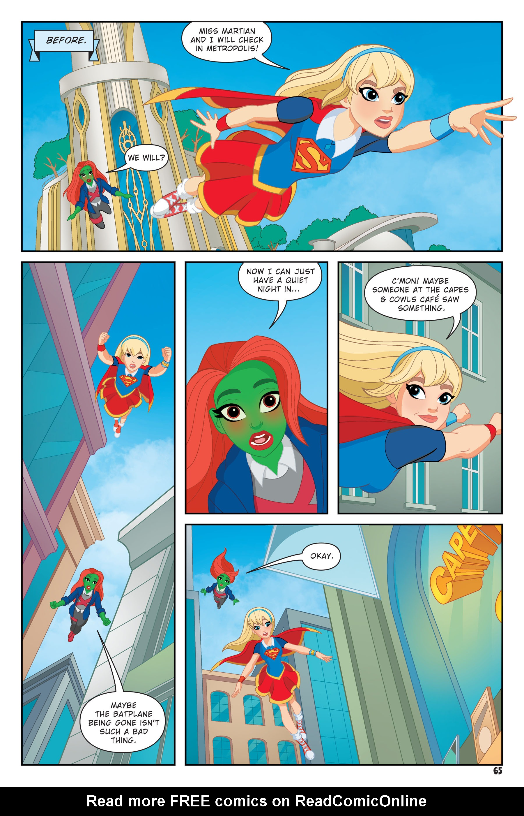 Read online DC Super Hero Girls: Hits and Myths comic -  Issue # Full - 62