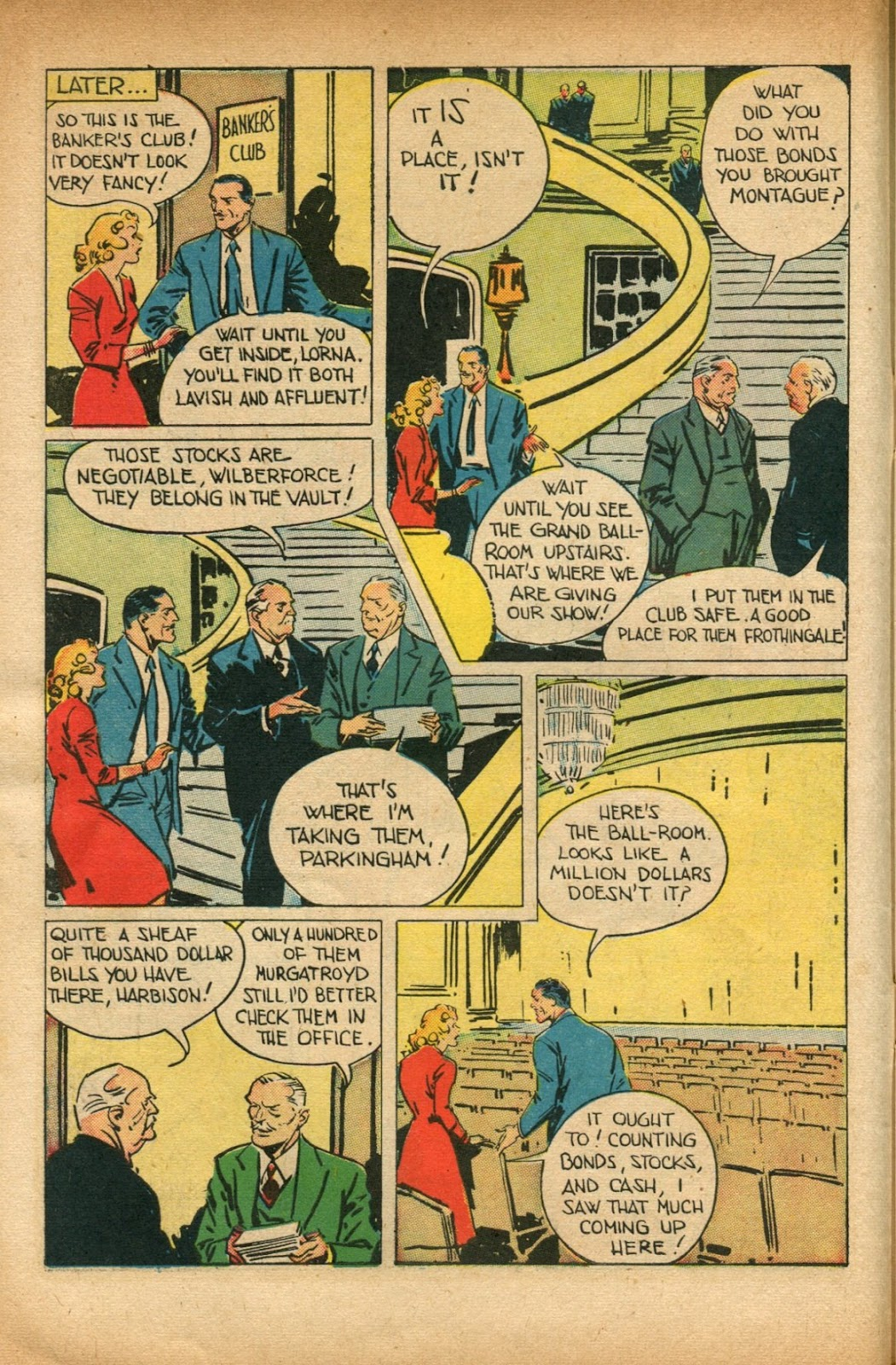 Read online Super-Magician Comics comic -  Issue #51 - 10