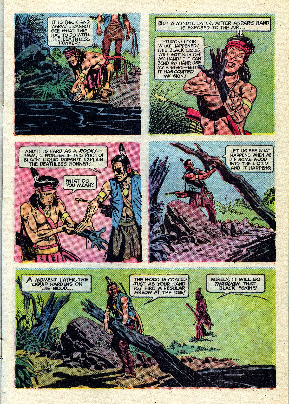 Read online Turok, Son of Stone comic -  Issue #72 - 9
