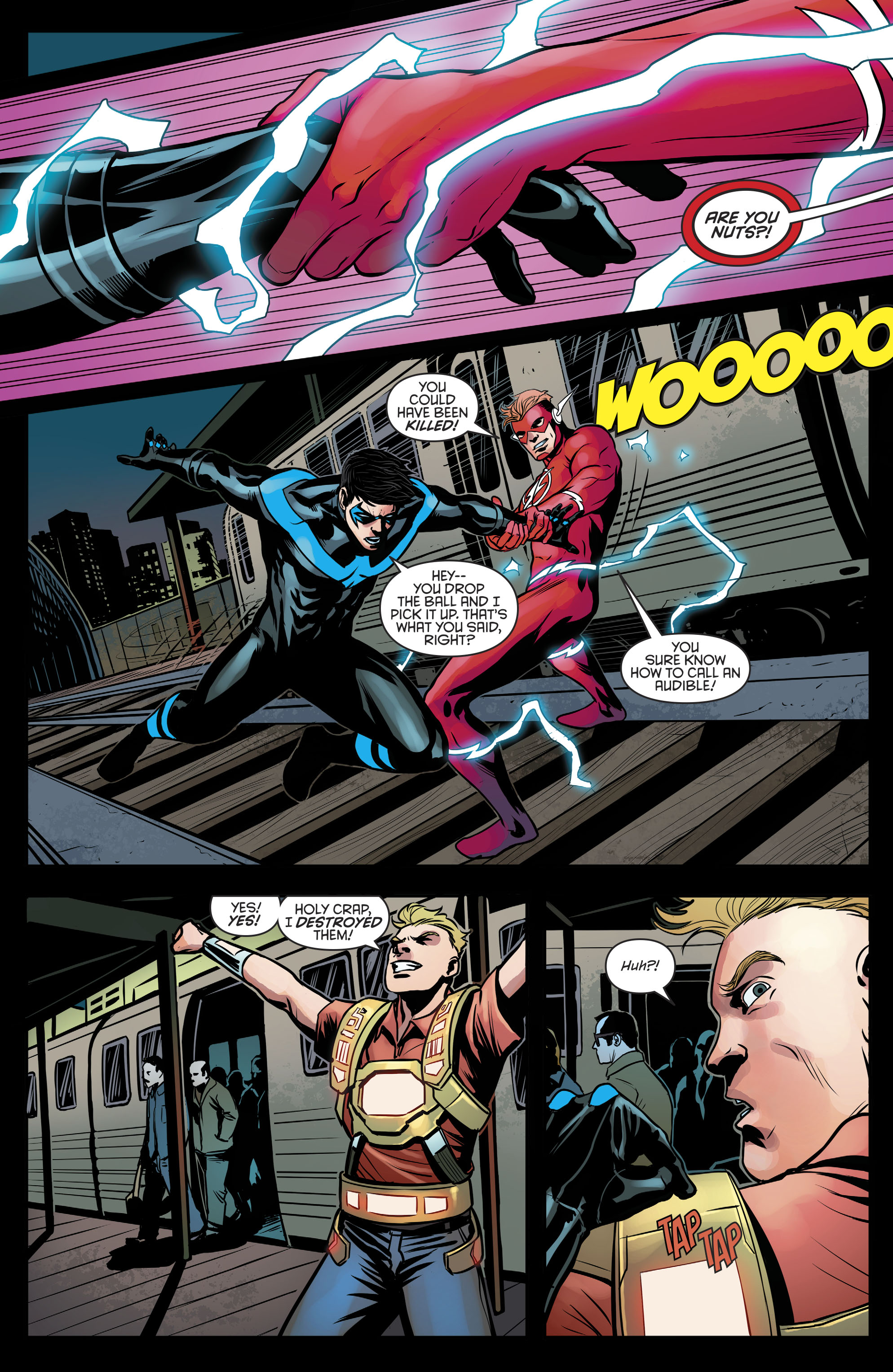 Read online Nightwing (2016) comic -  Issue #21 - 19