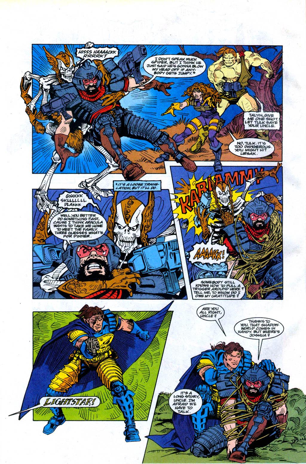 Skeleton Warriors Issue #4 #4 - English 10
