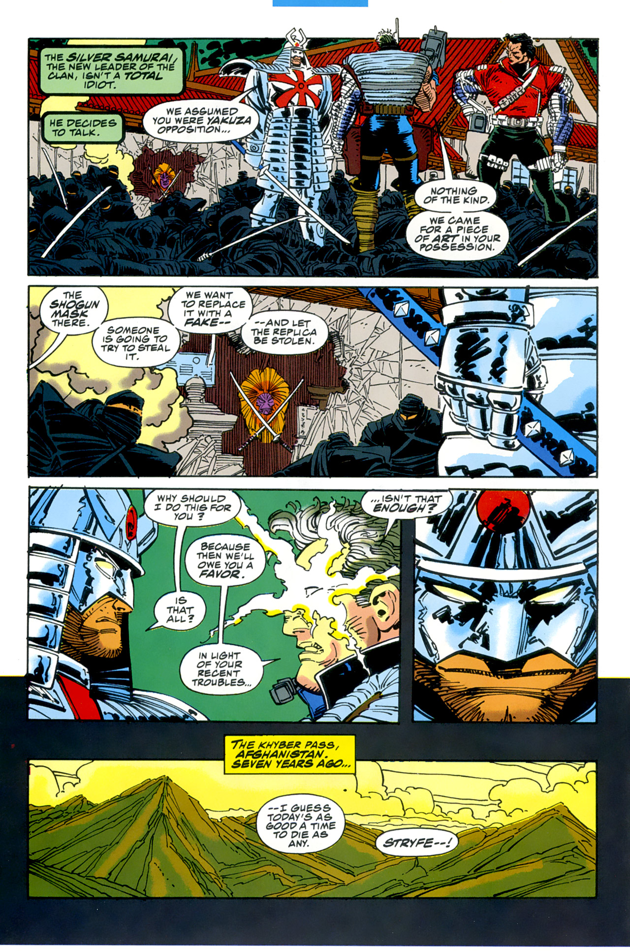 Read online Cable - Blood and Metal comic -  Issue #2 - 9