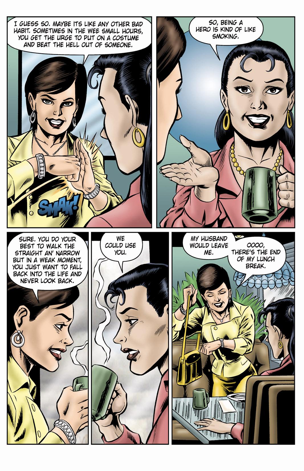 Read online SideChicks comic -  Issue #4 - 20