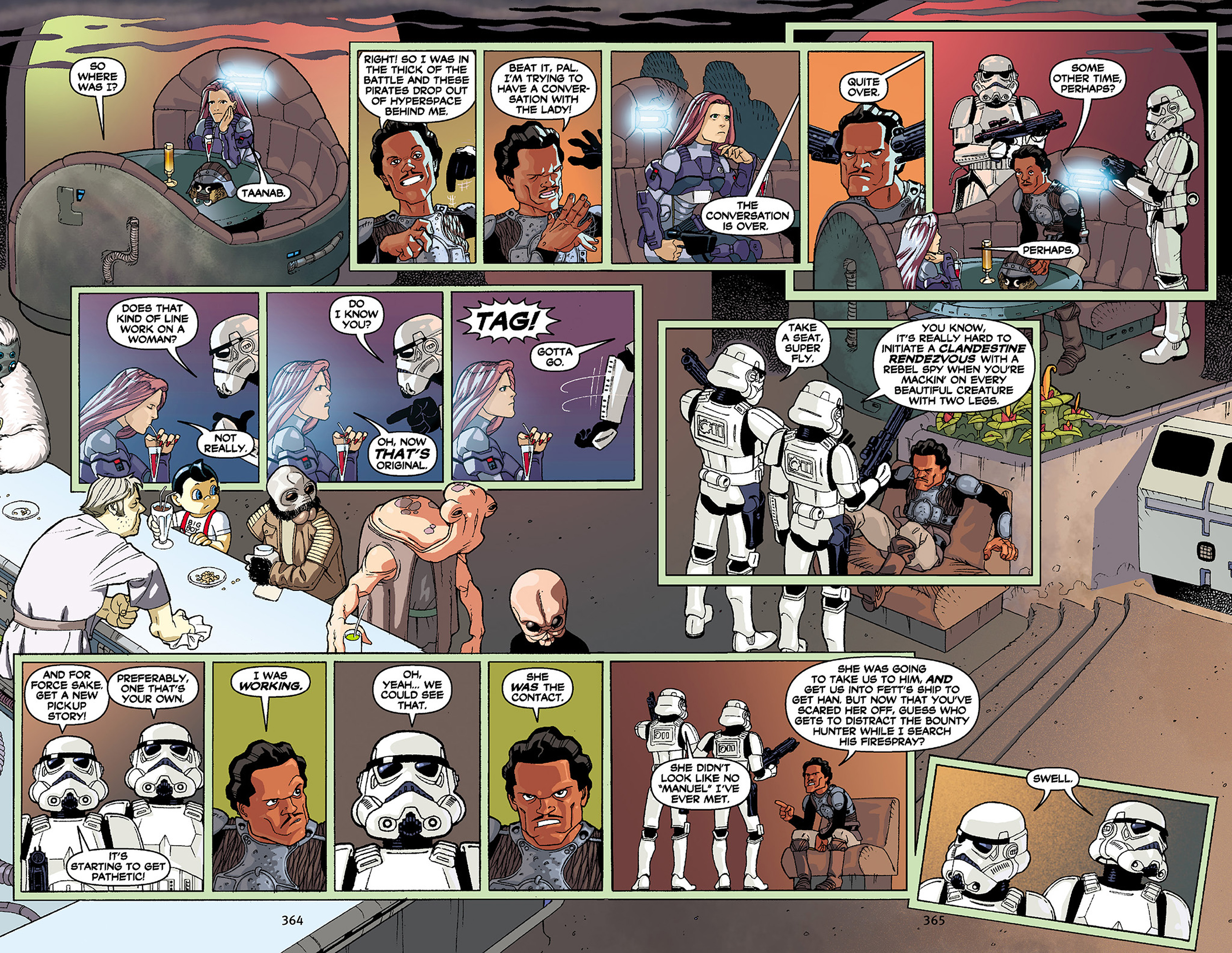 Read online Star Wars Omnibus comic -  Issue # Vol. 30 - 357