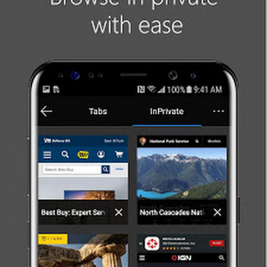 Resmi! Microsoft Edge Kini Tersedia di Google Play Store