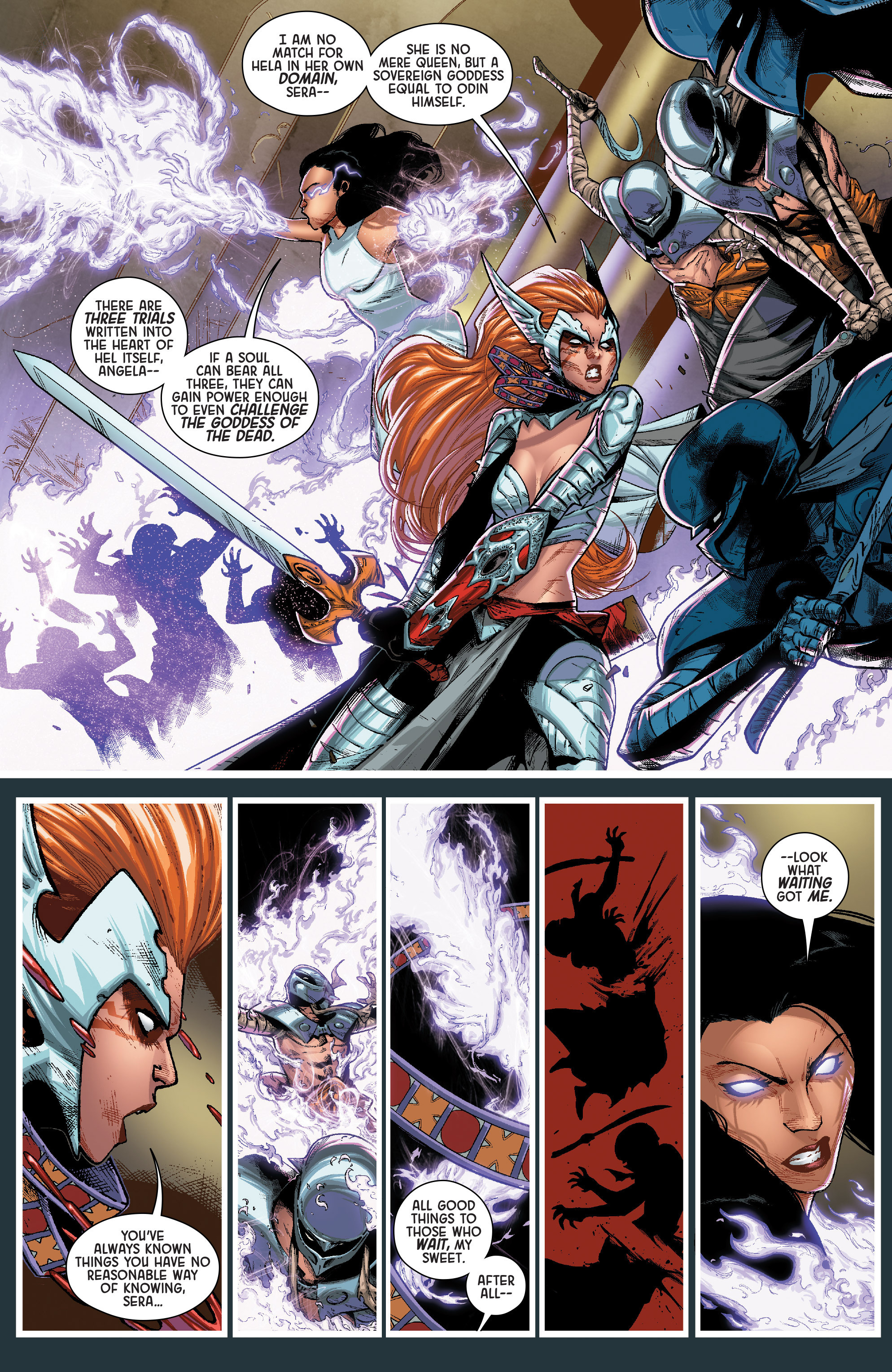 Read online Angela: Queen Of Hel comic -  Issue #2 - 8