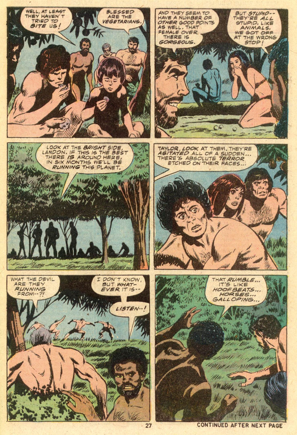 Read online Adventures on the Planet of the Apes comic -  Issue #1 - 18