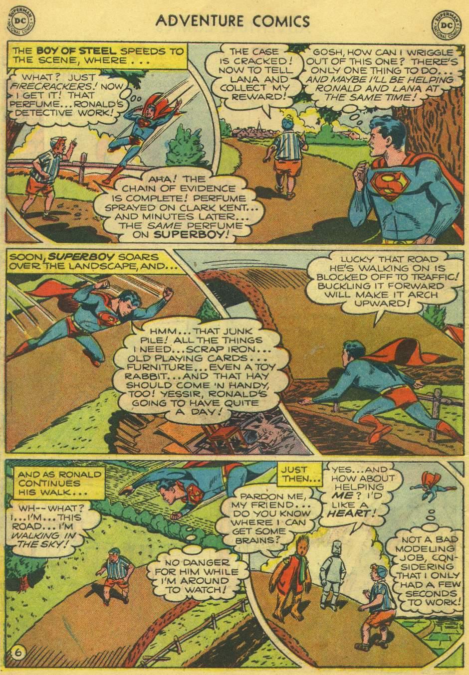 Read online Adventure Comics (1938) comic -  Issue #168 - 8