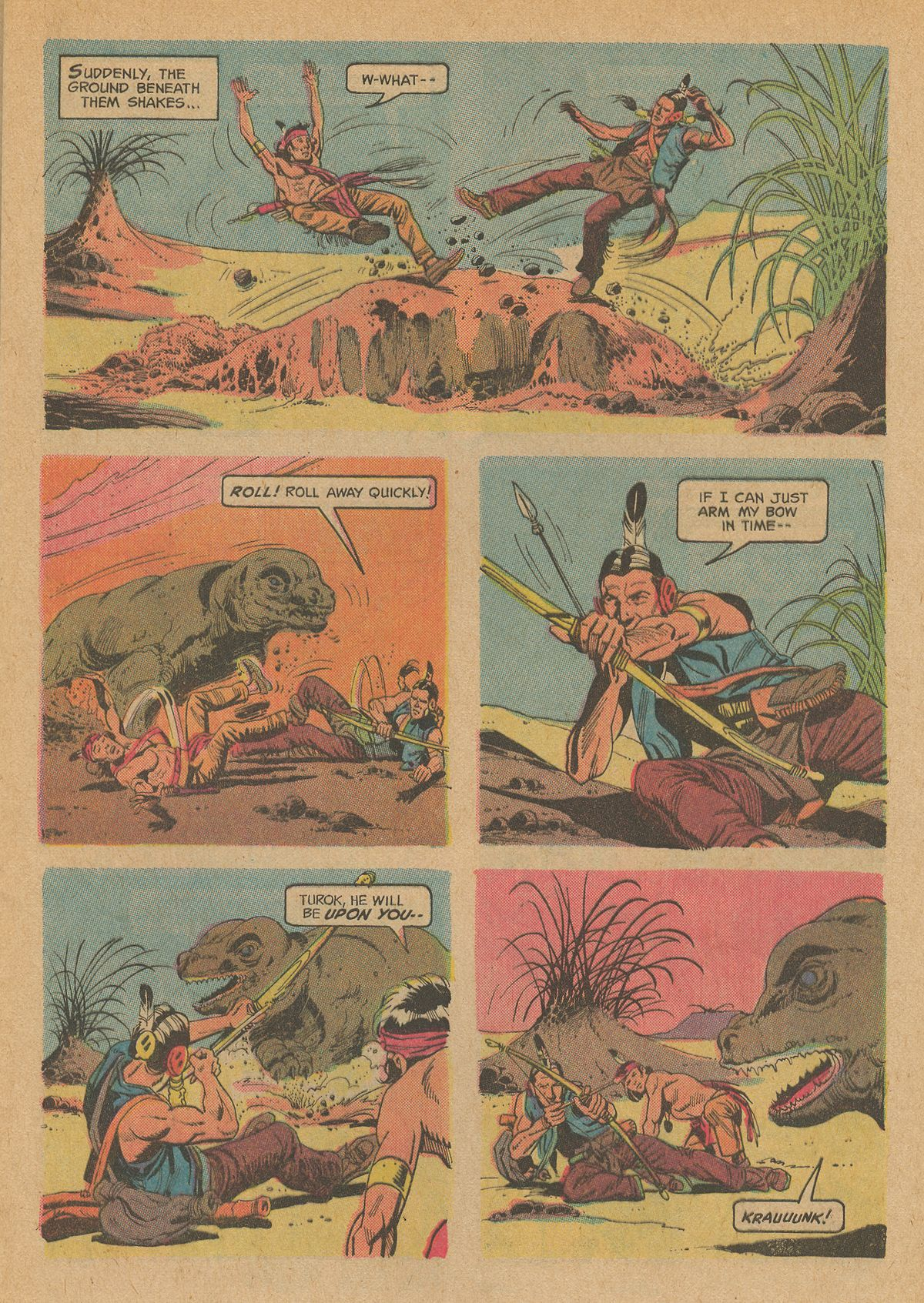 Read online Turok, Son of Stone comic -  Issue #83 - 9