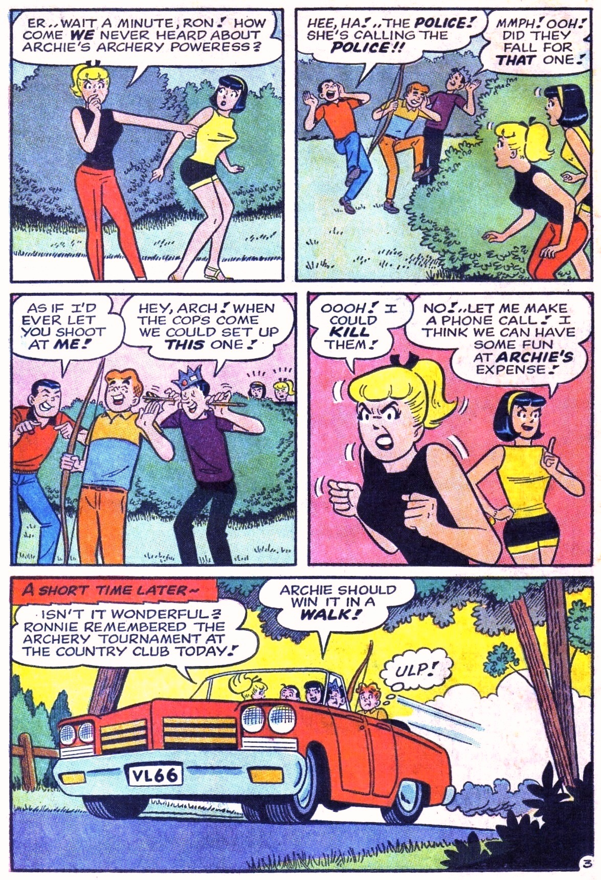 Read online Archie (1960) comic -  Issue #168 - 22