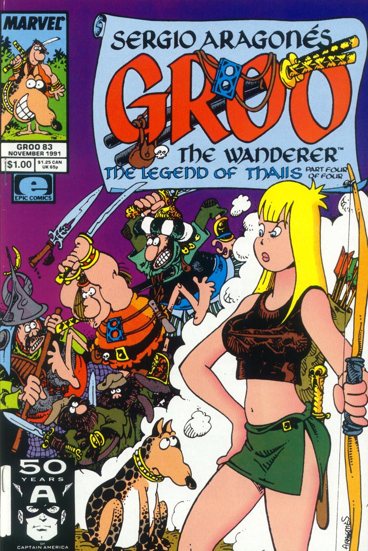 Read online Sergio Aragonés Groo the Wanderer comic -  Issue #83 - 1
