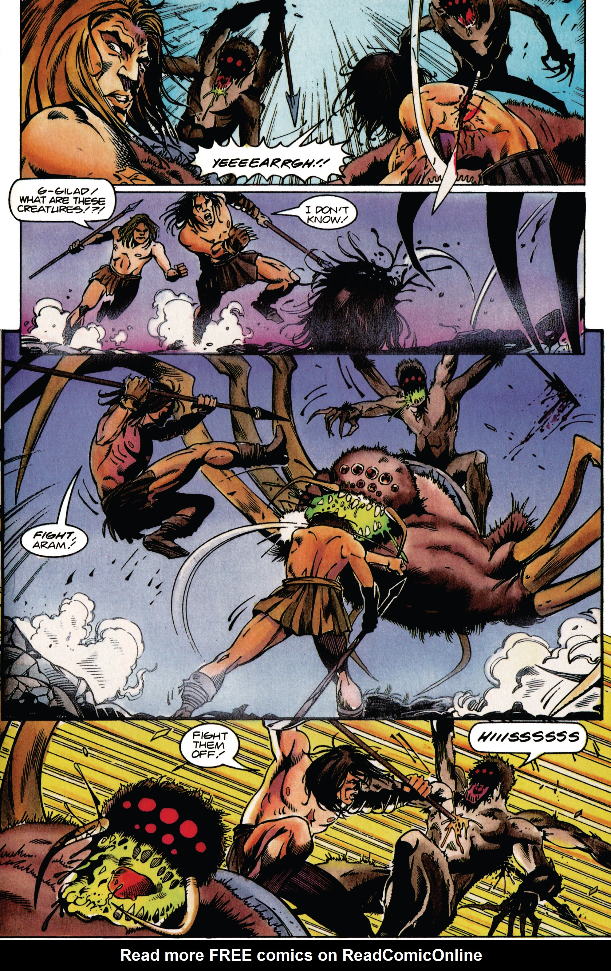 Read online Eternal Warrior (1992) comic -  Issue #37 - 13