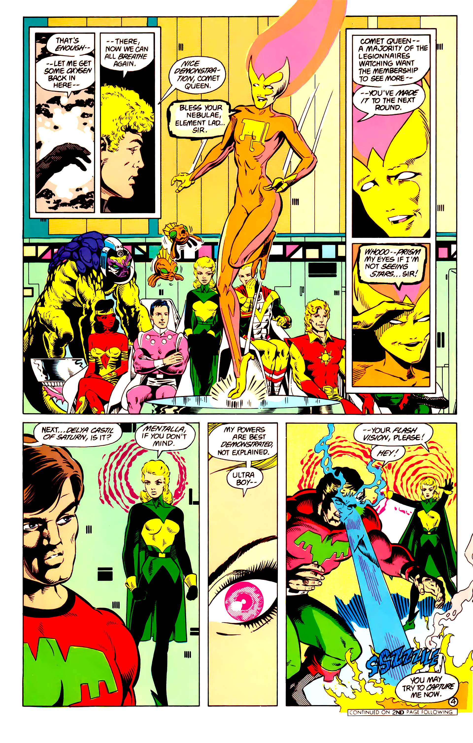 Legion of Super-Heroes (1984) 14 Page 5
