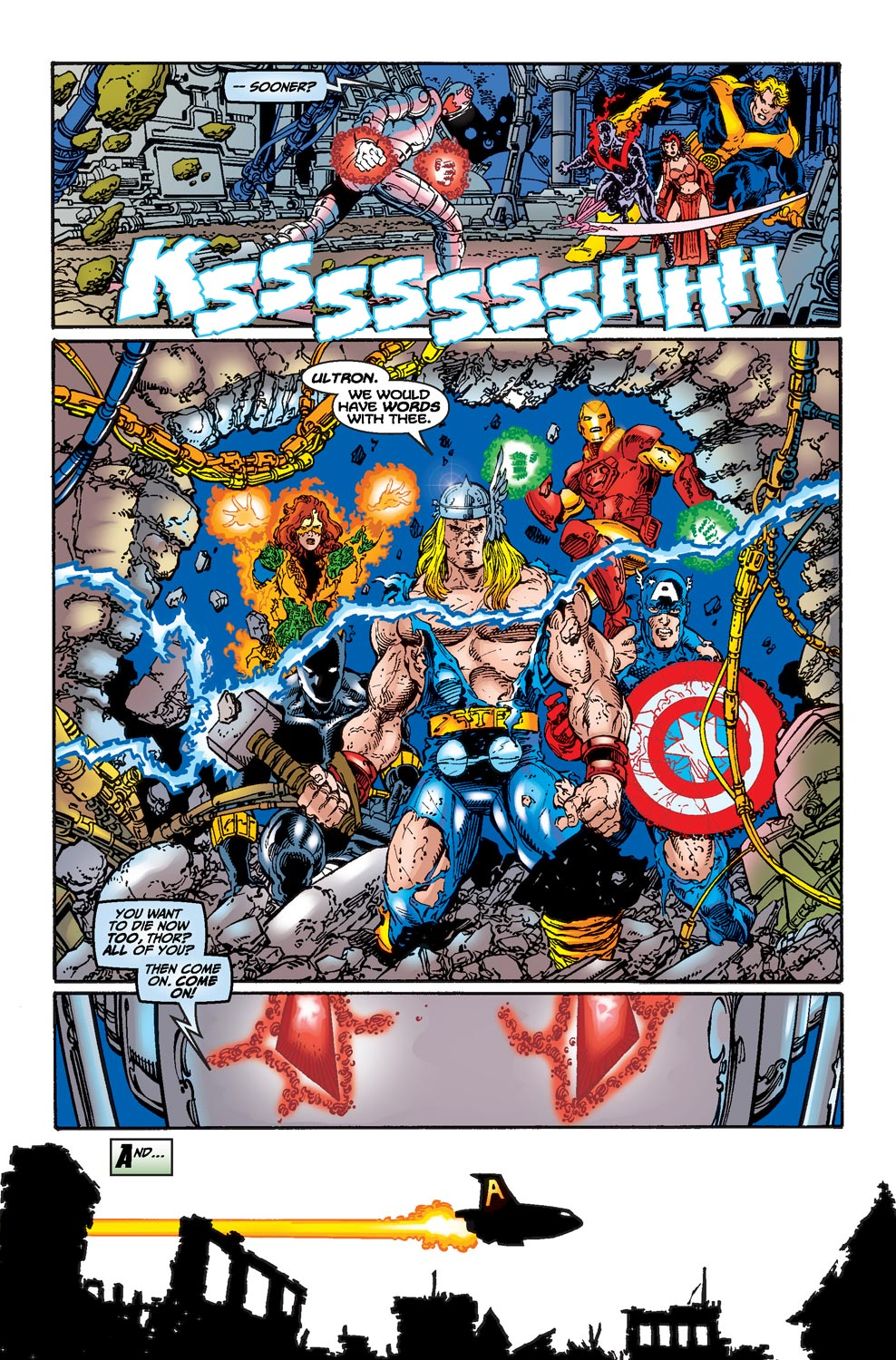 Read online Avengers (1998) comic -  Issue #22 - 14