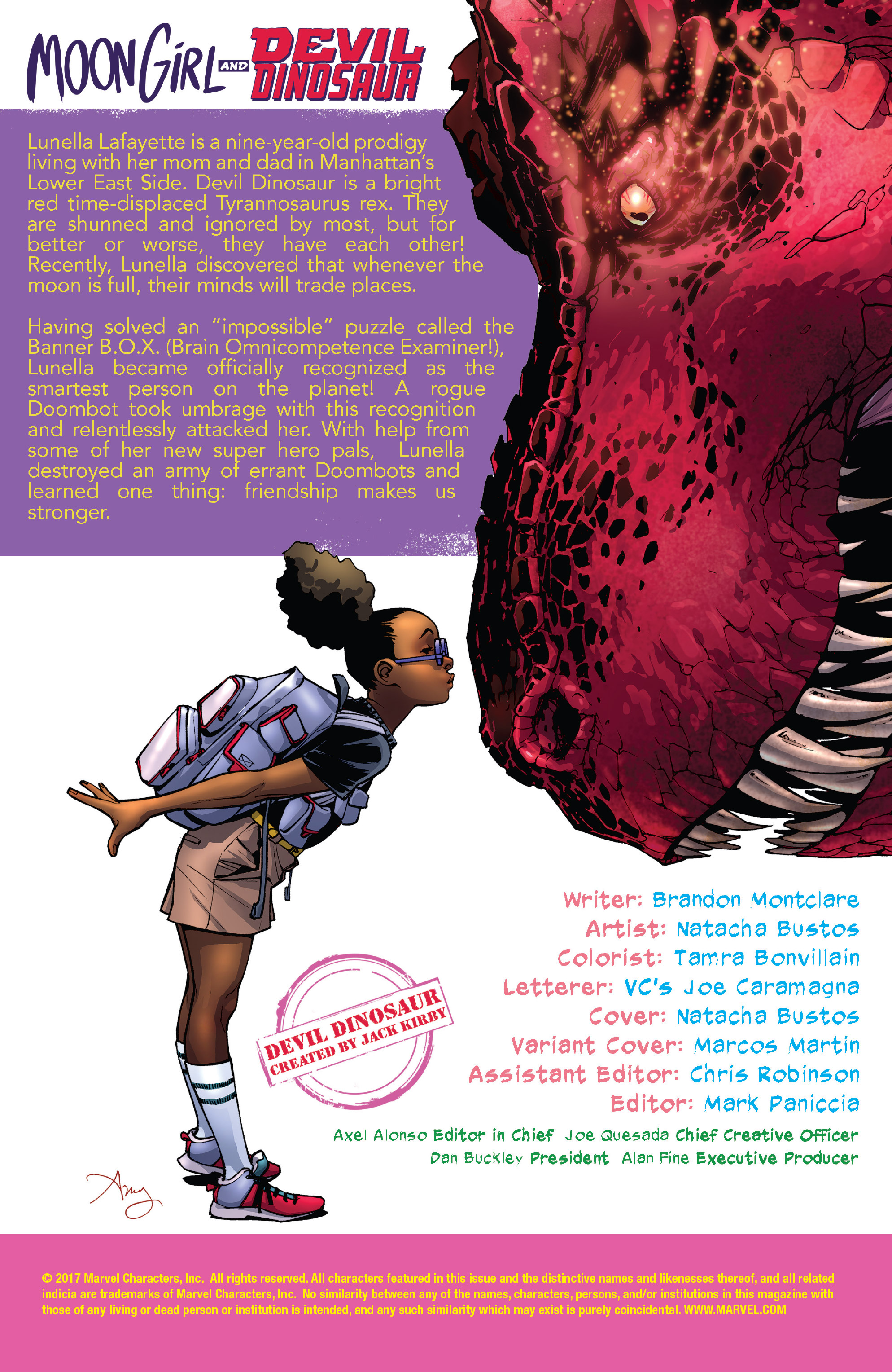 Read online Moon Girl And Devil Dinosaur comic -  Issue #19 - 2