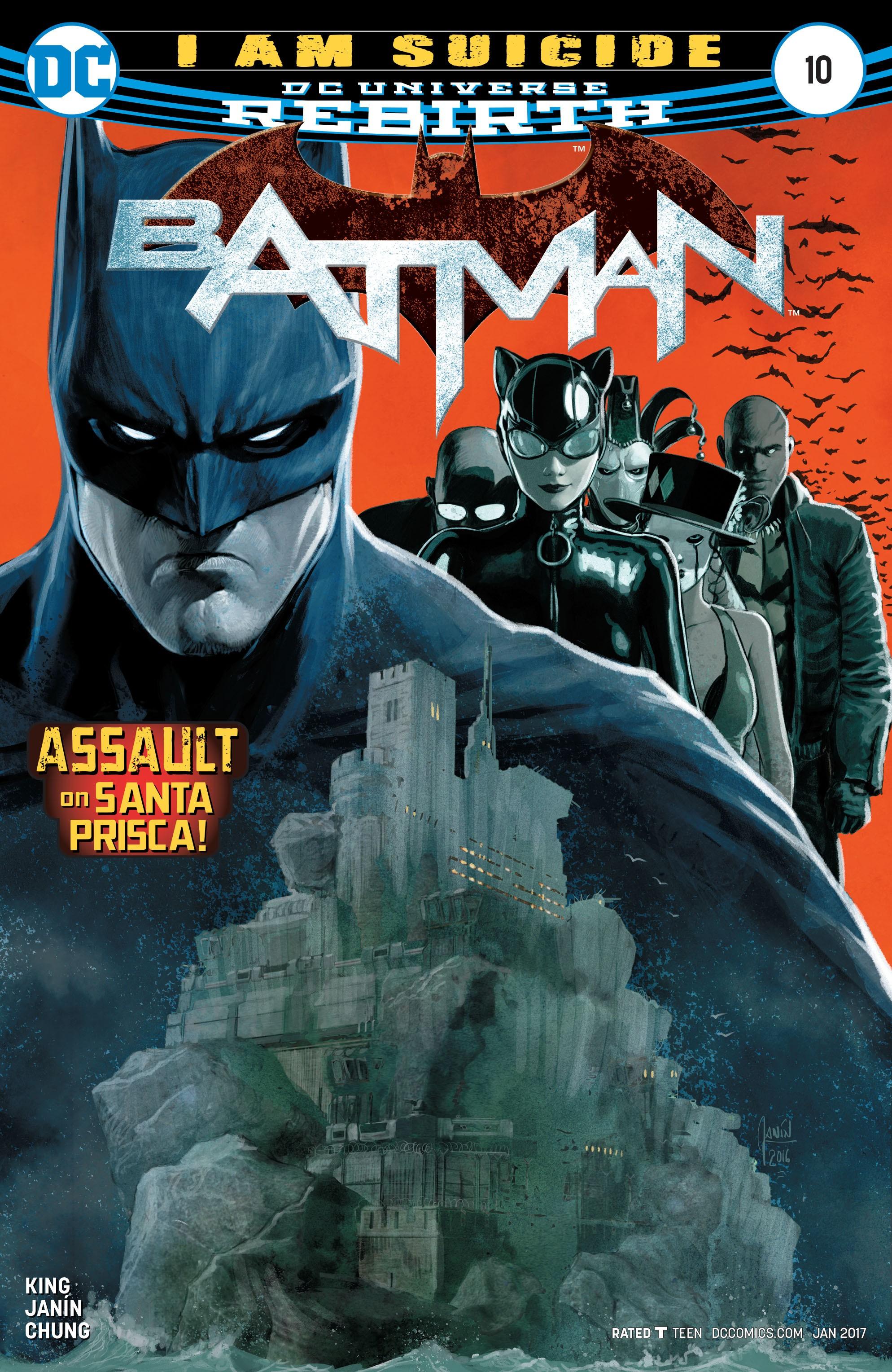 Batman (2016) 10 Page 1