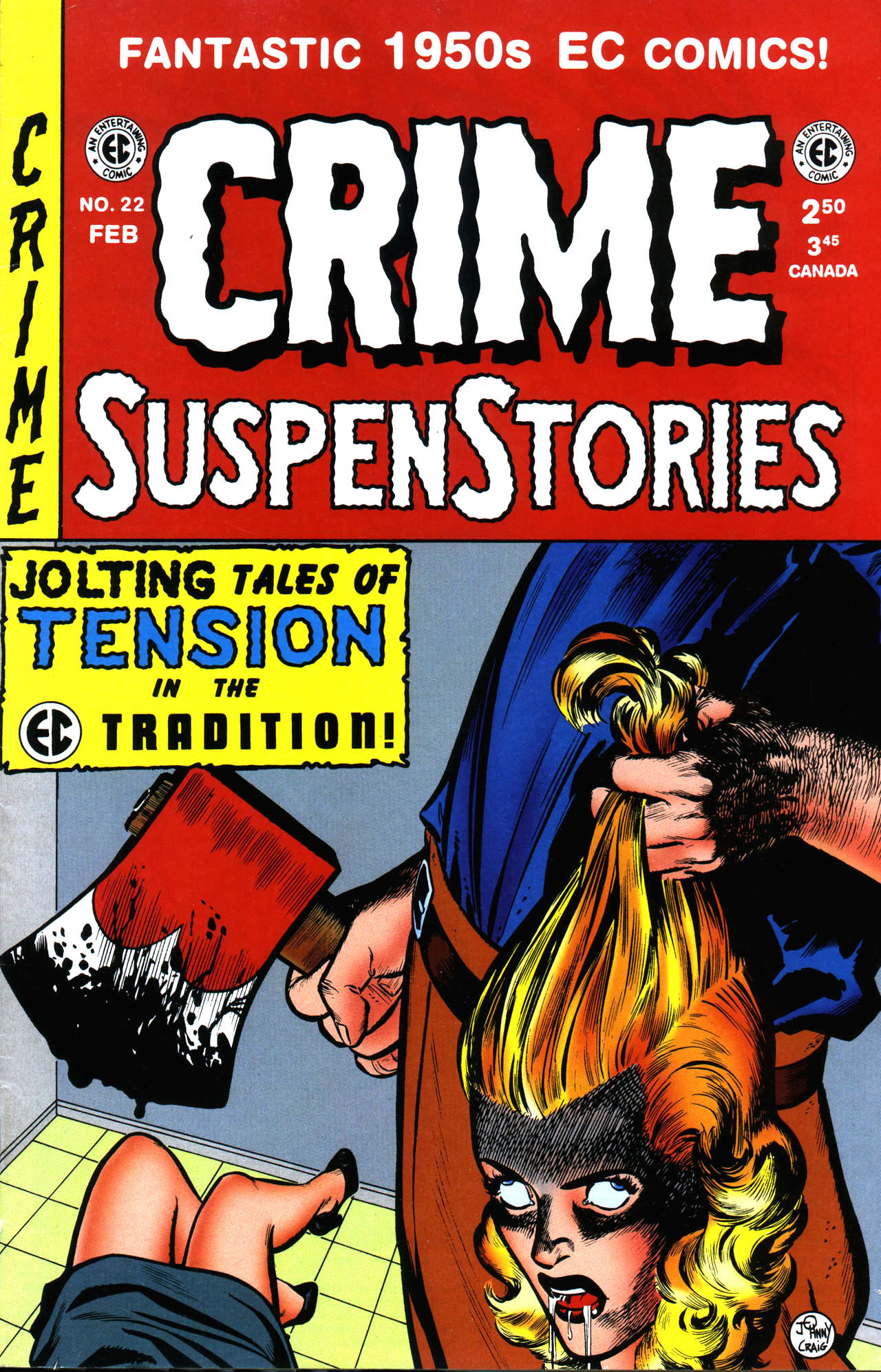 Crime SuspenStories 22 Page 1