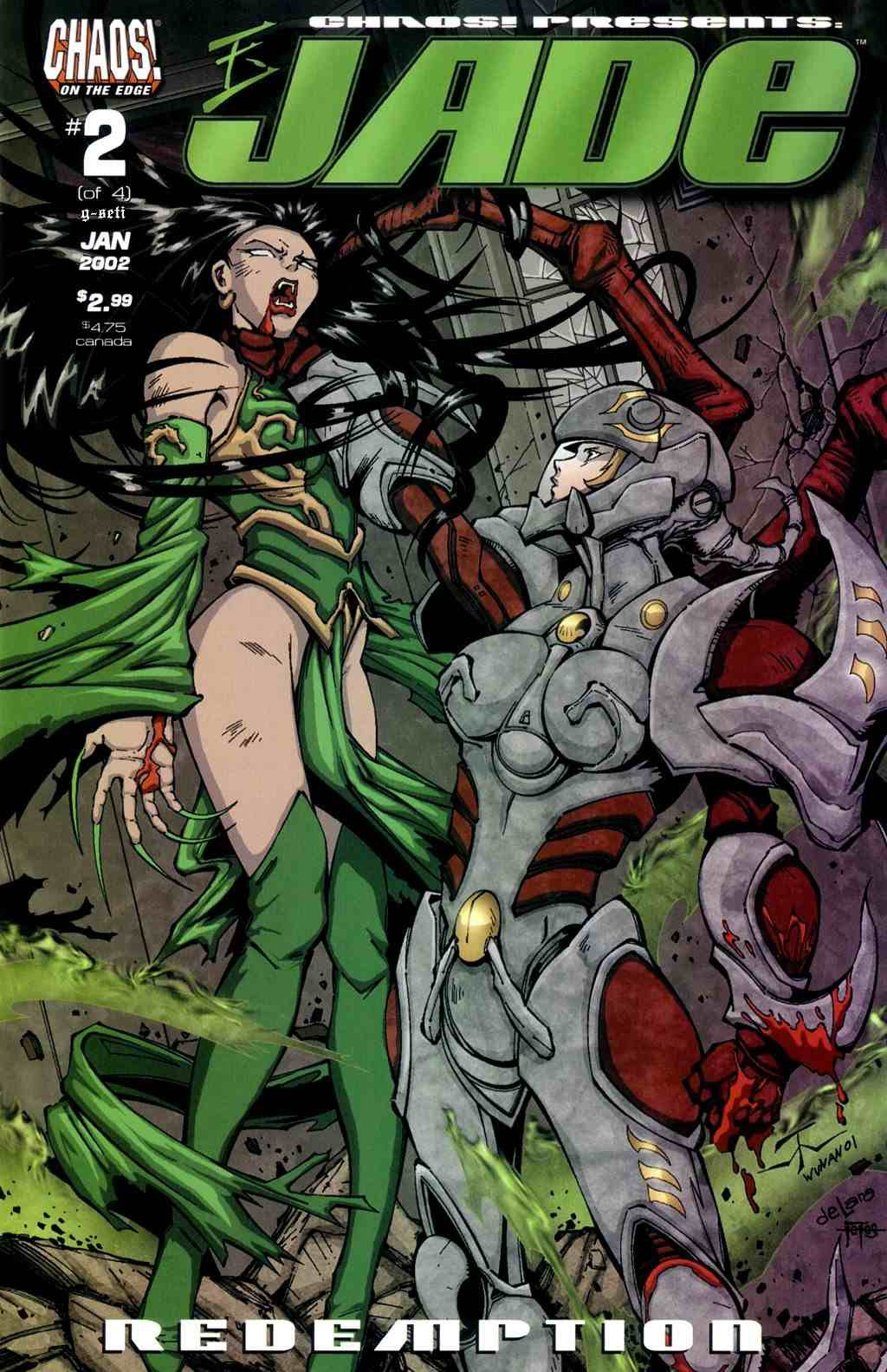 Jade: Redemption issue 2 - Page 1
