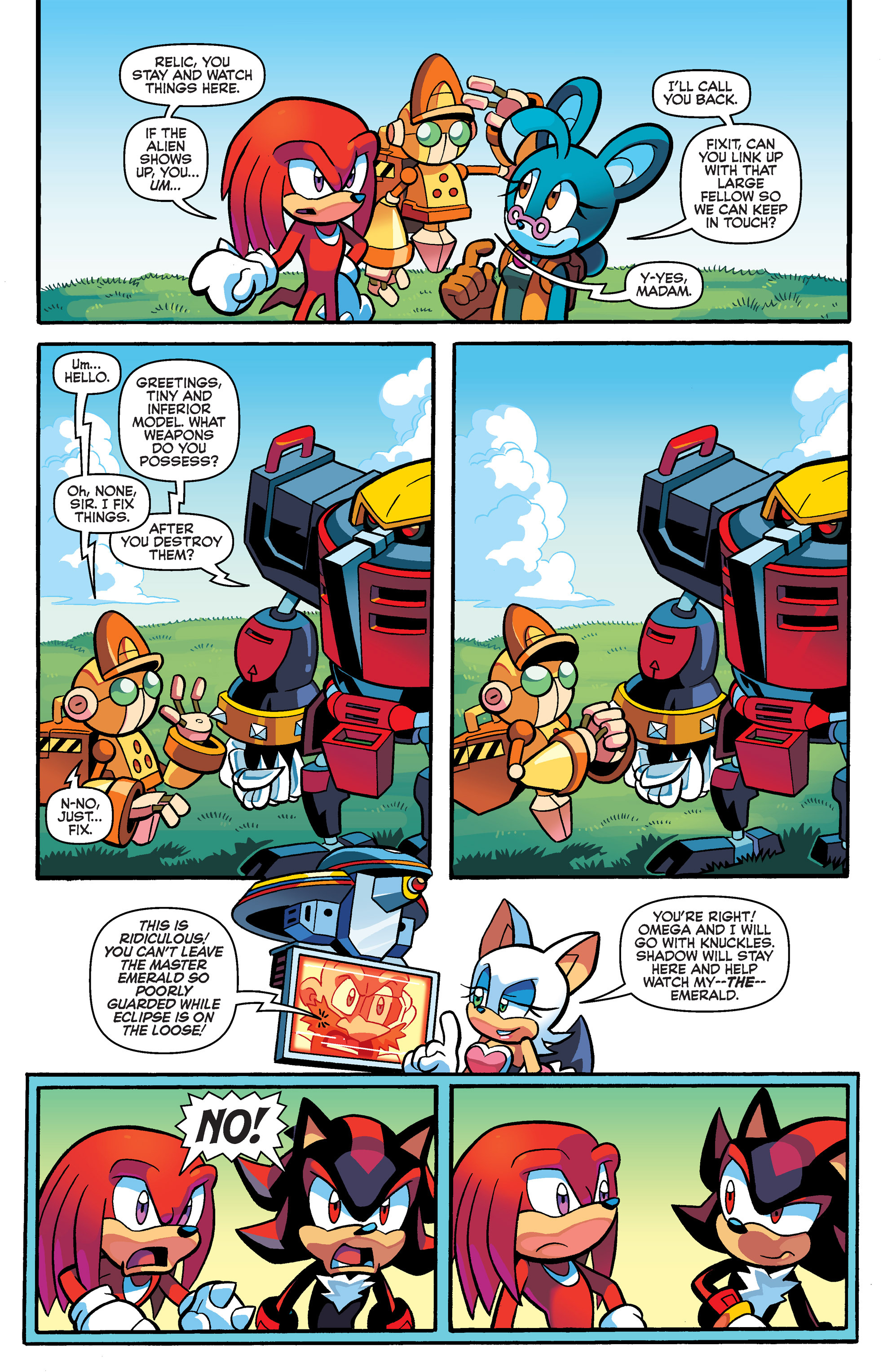 Read online Sonic Universe comic -  Issue #67 - 14