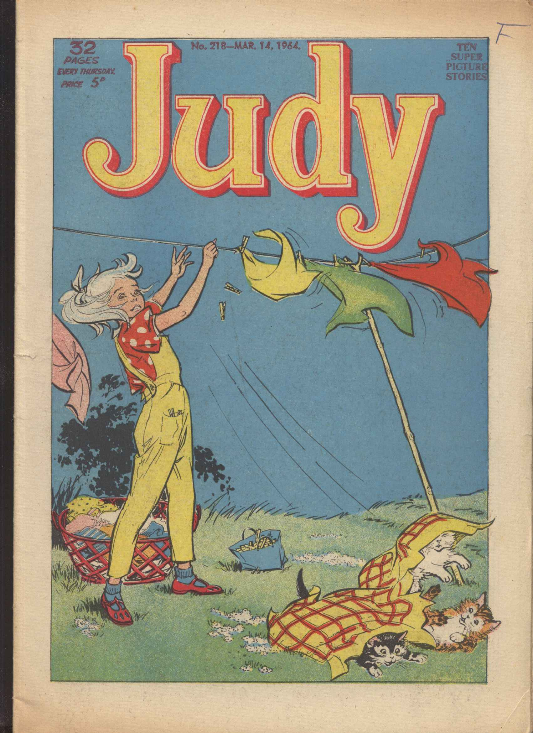 Read online Judy comic -  Issue #218 - 1