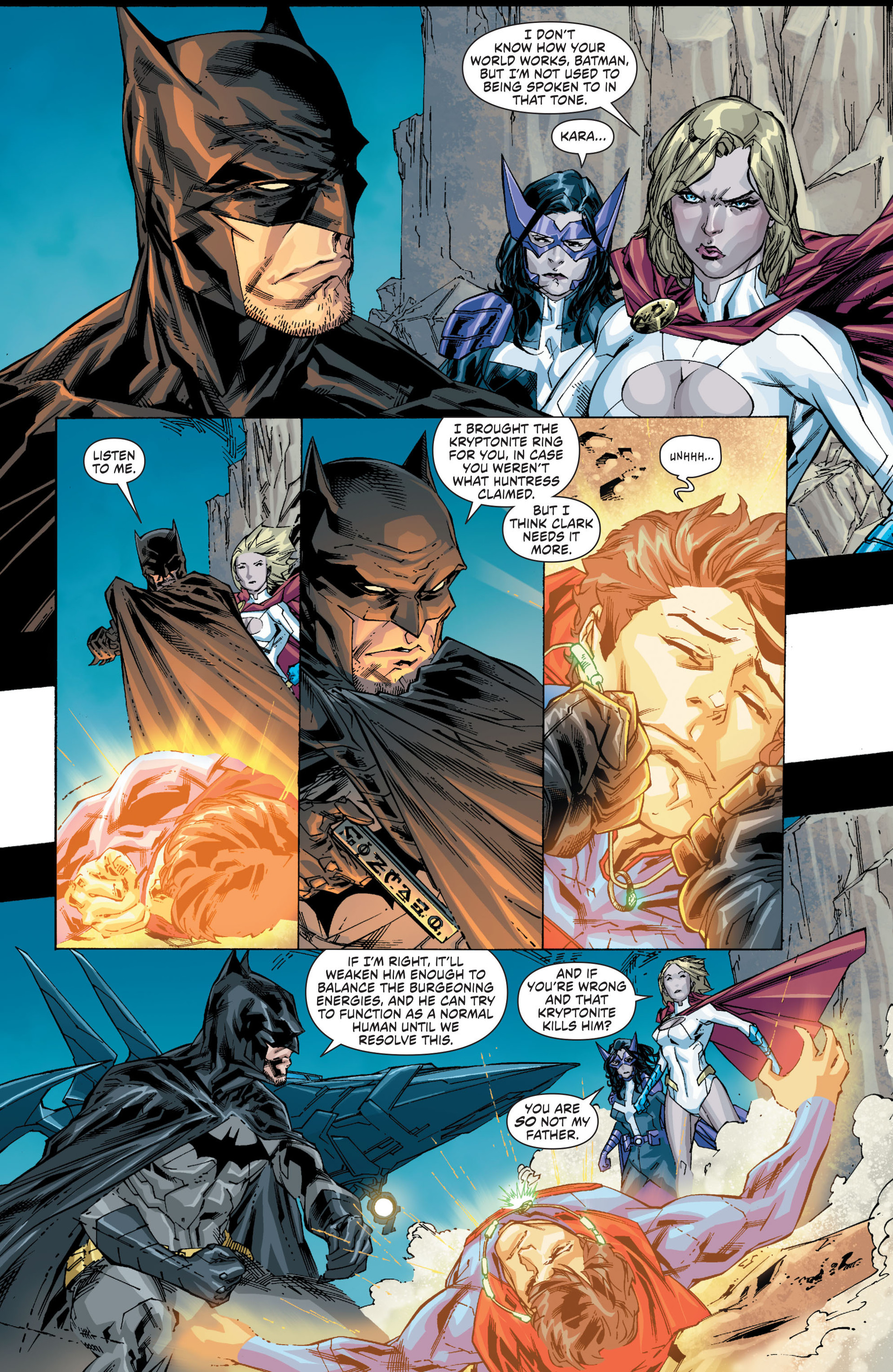 Read online Worlds' Finest comic -  Issue #20 - 6