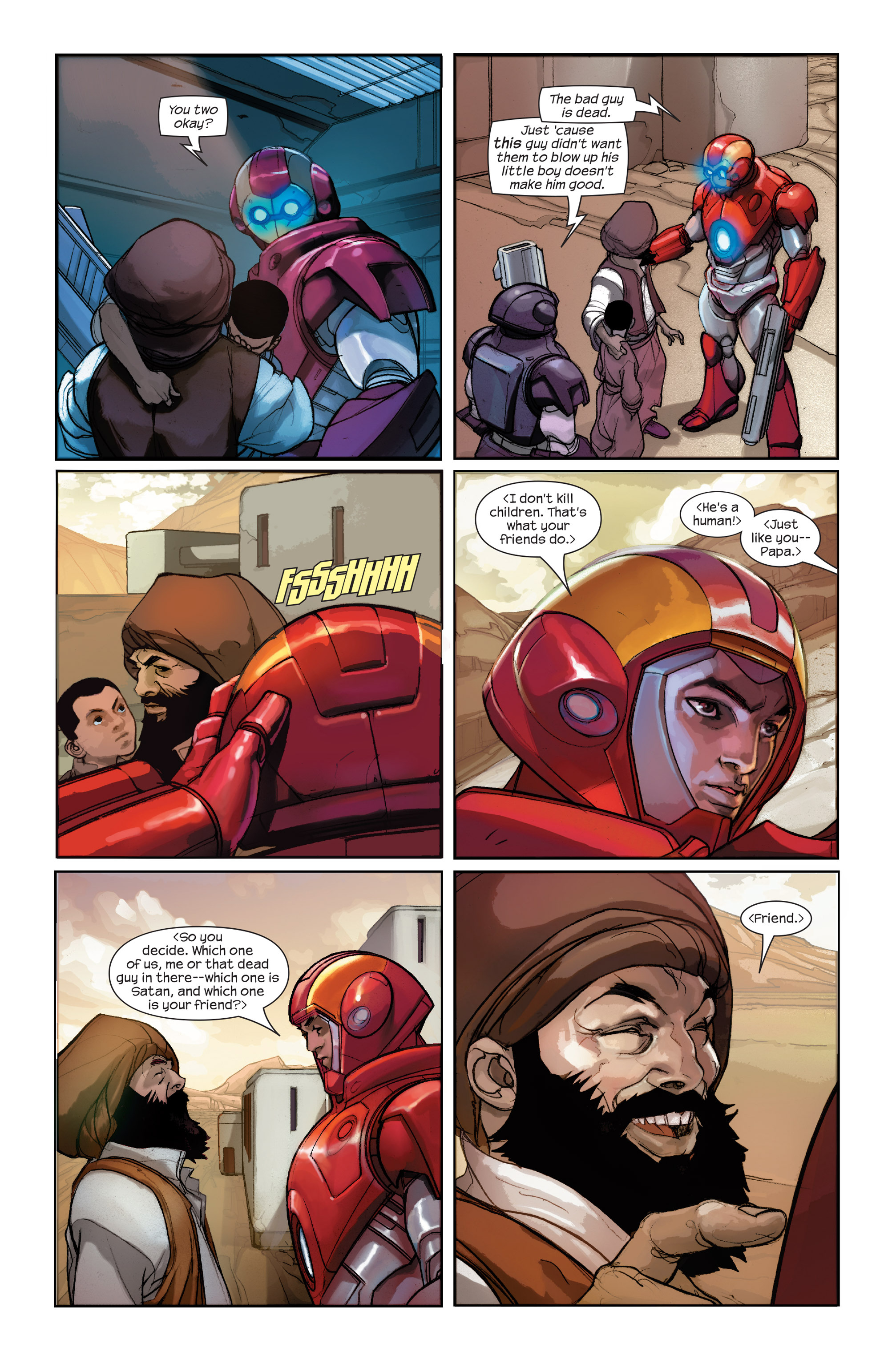 Read online Ultimate Iron Man II comic -  Issue #2 - 4